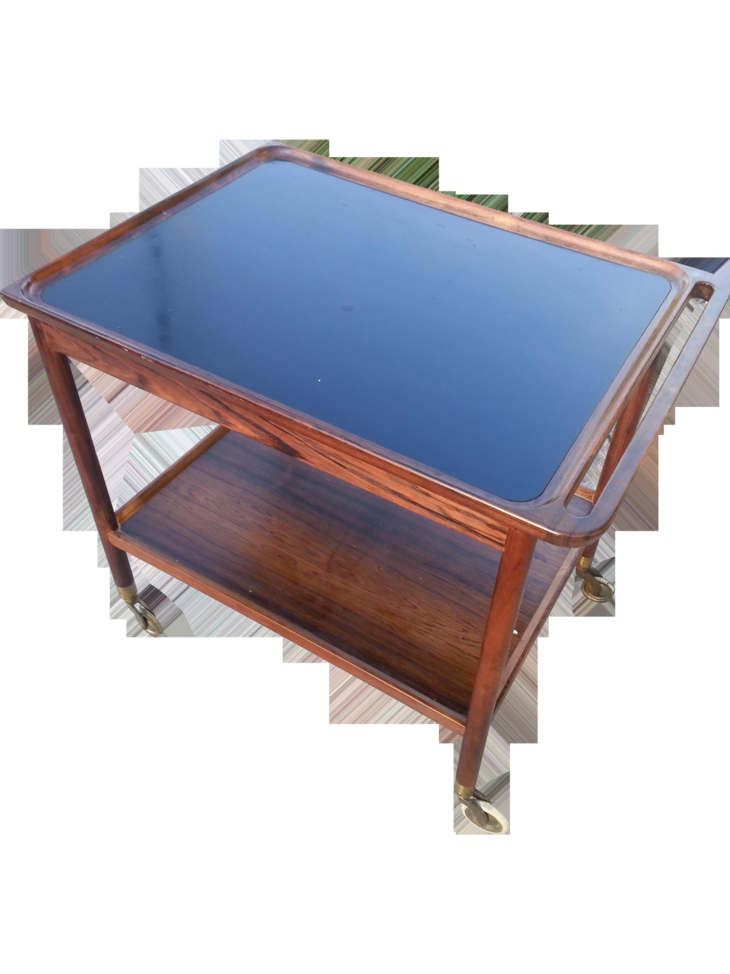 danish modern mid century modern mahogany bar cart designer ludvig pontpoppidan 1969 chairish. Black Bedroom Furniture Sets. Home Design Ideas
