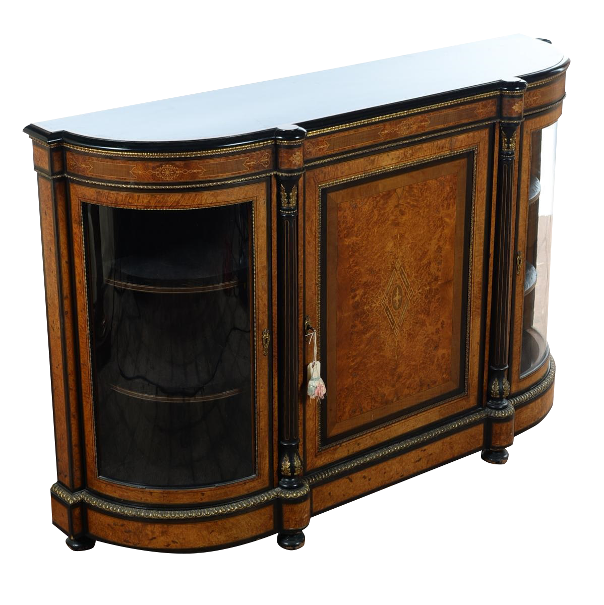 antique 19th c napoleon iii french buffet chairish. Black Bedroom Furniture Sets. Home Design Ideas