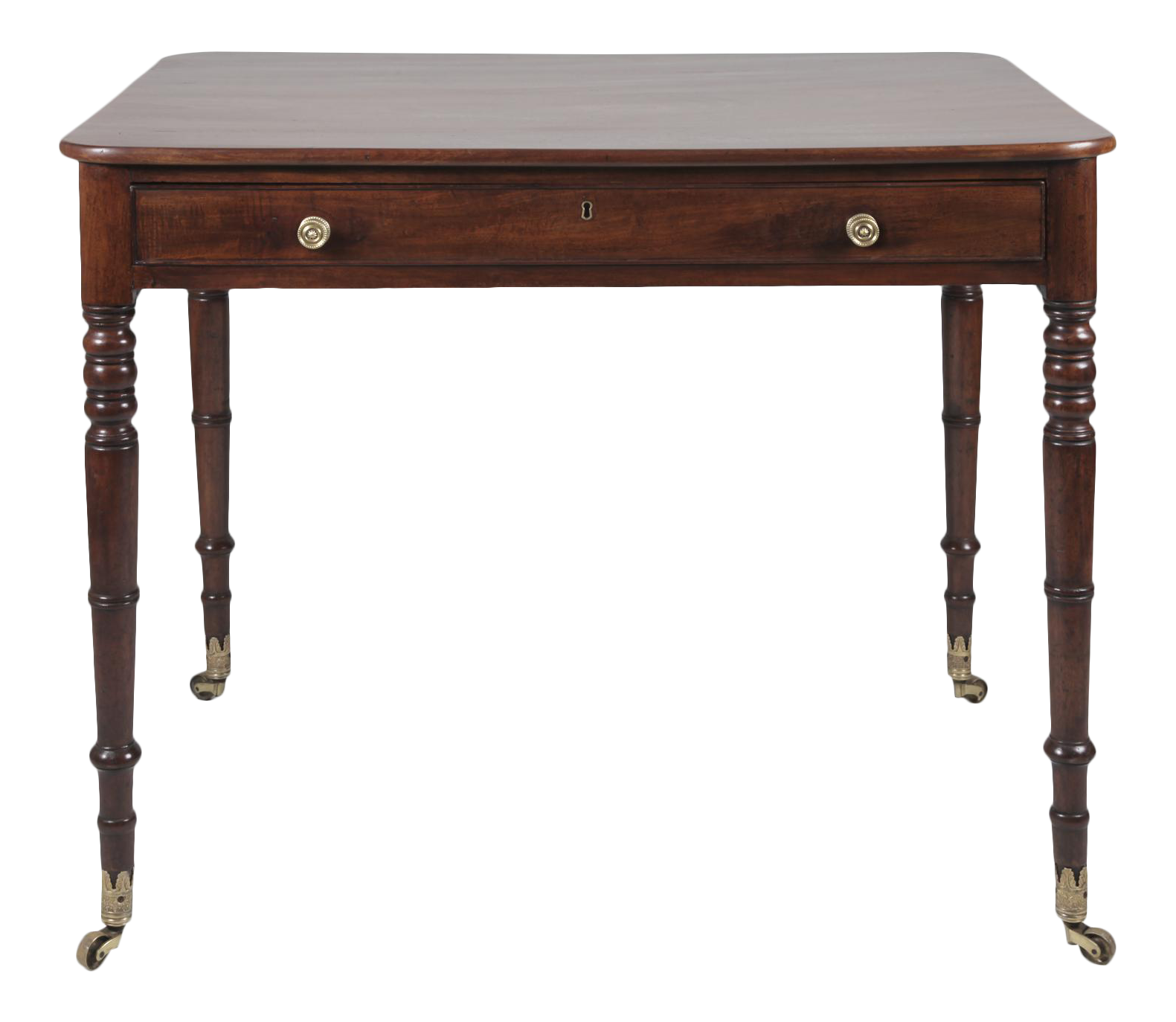 Antique English Regency Mahogany Writing Table