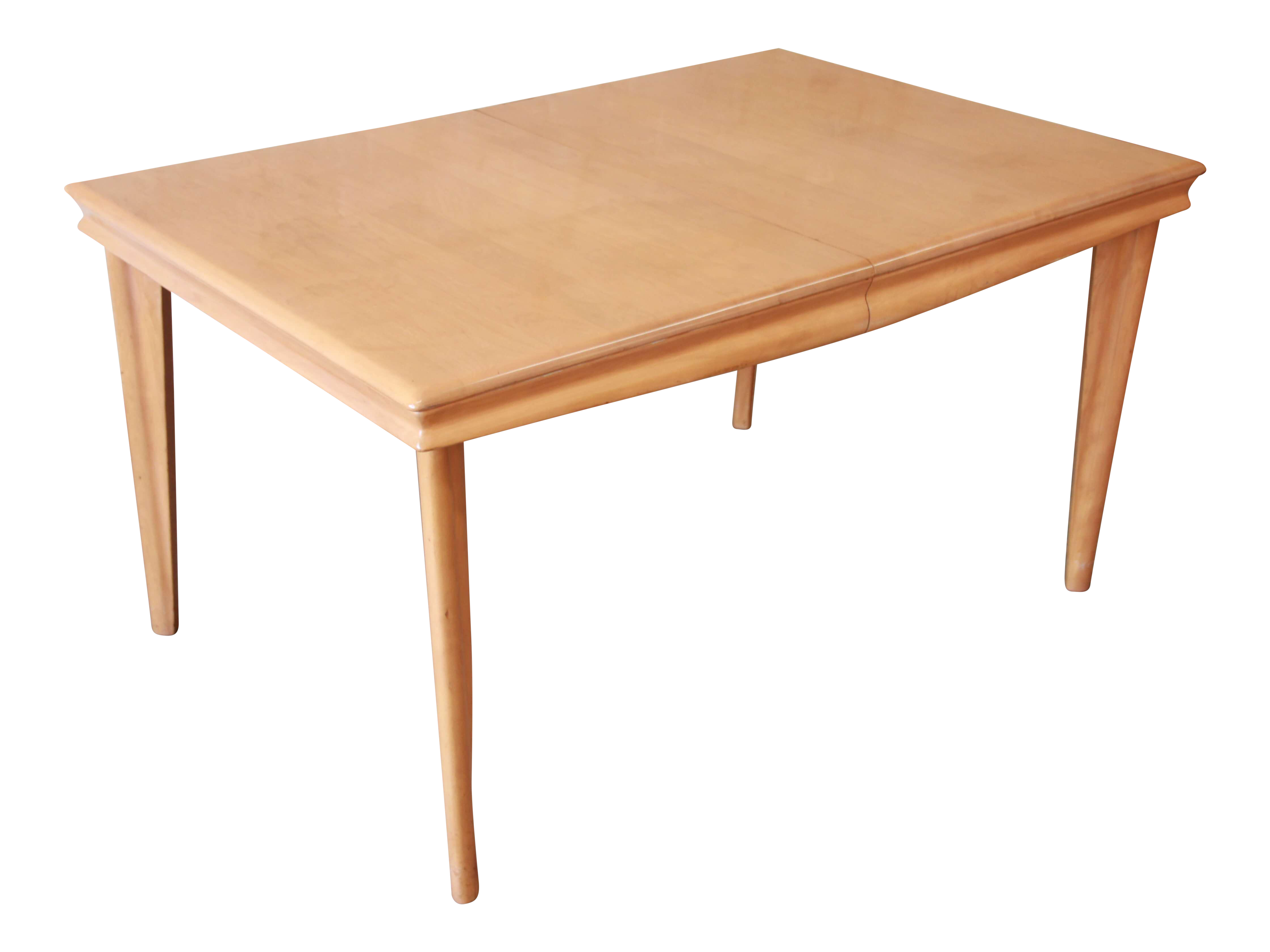 Vintage used heywood wakefield tables chairish heywood wakefield extension dining table geotapseo Image collections
