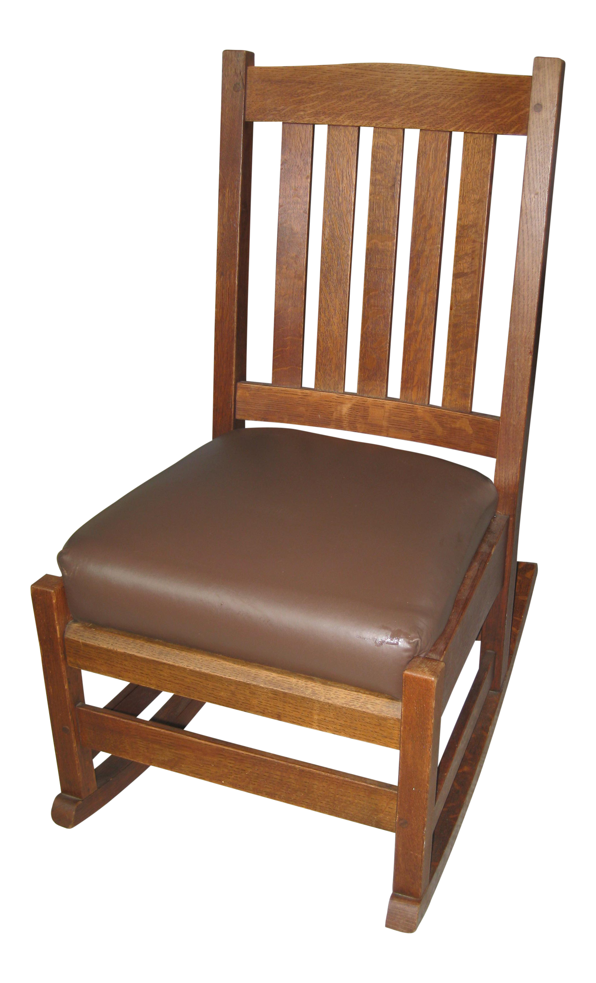 Arts and crafts furniture chair - Image Of Arts Crafts Stickley Rocking Chair
