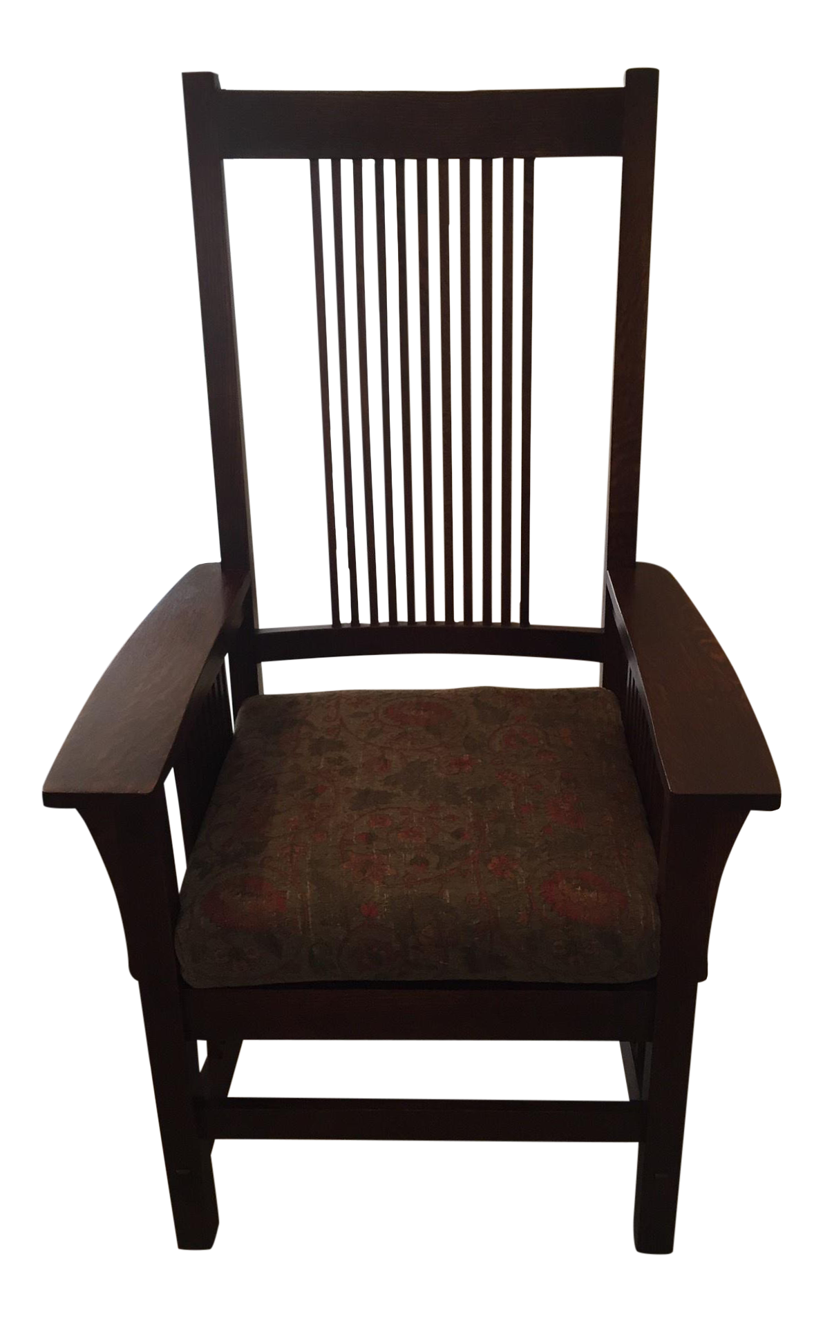 Stickley Mission Style Arm Chair Chairish
