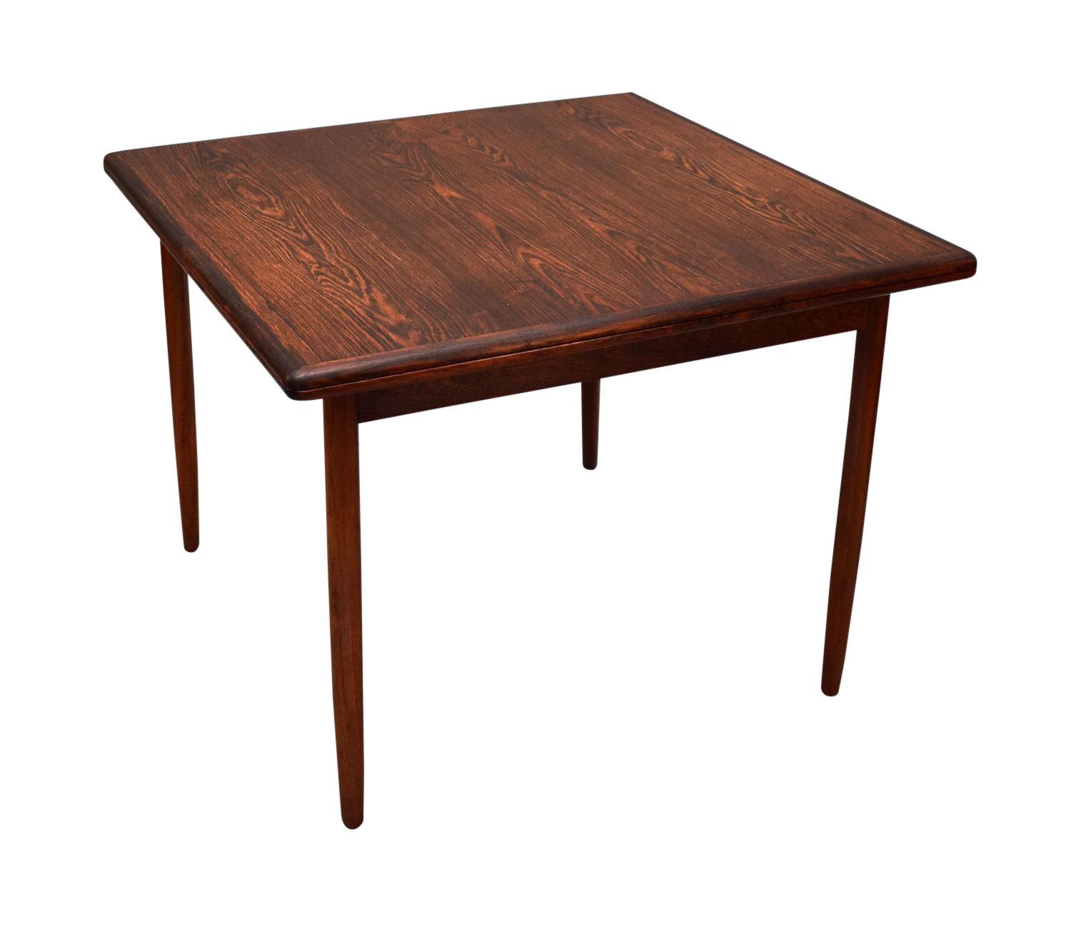 Kurt stervig Expanding Dining Table In Brazilian Rosewood