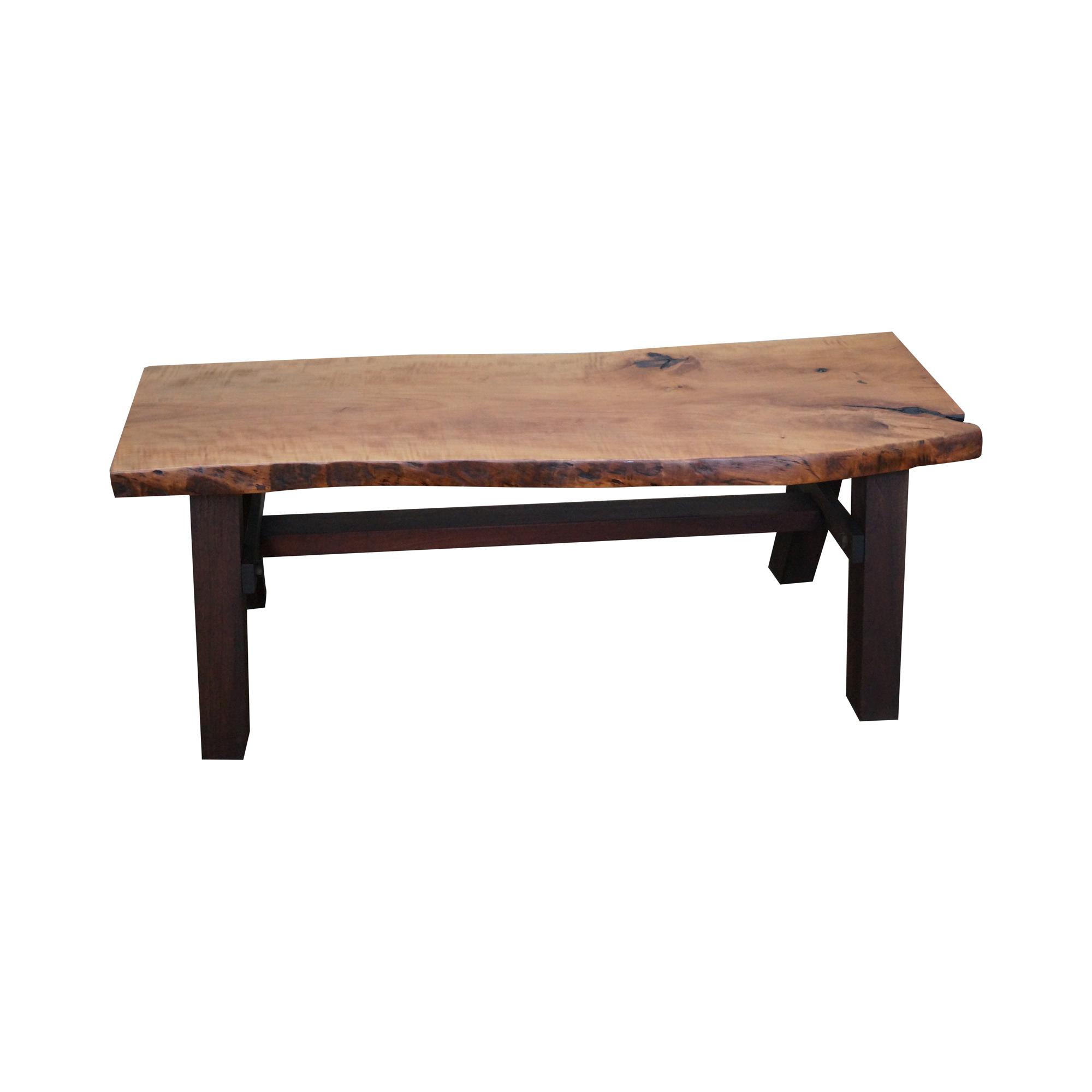 bucks county studio made free form coffee table  chairish - image of bucks county studio made free form coffee table