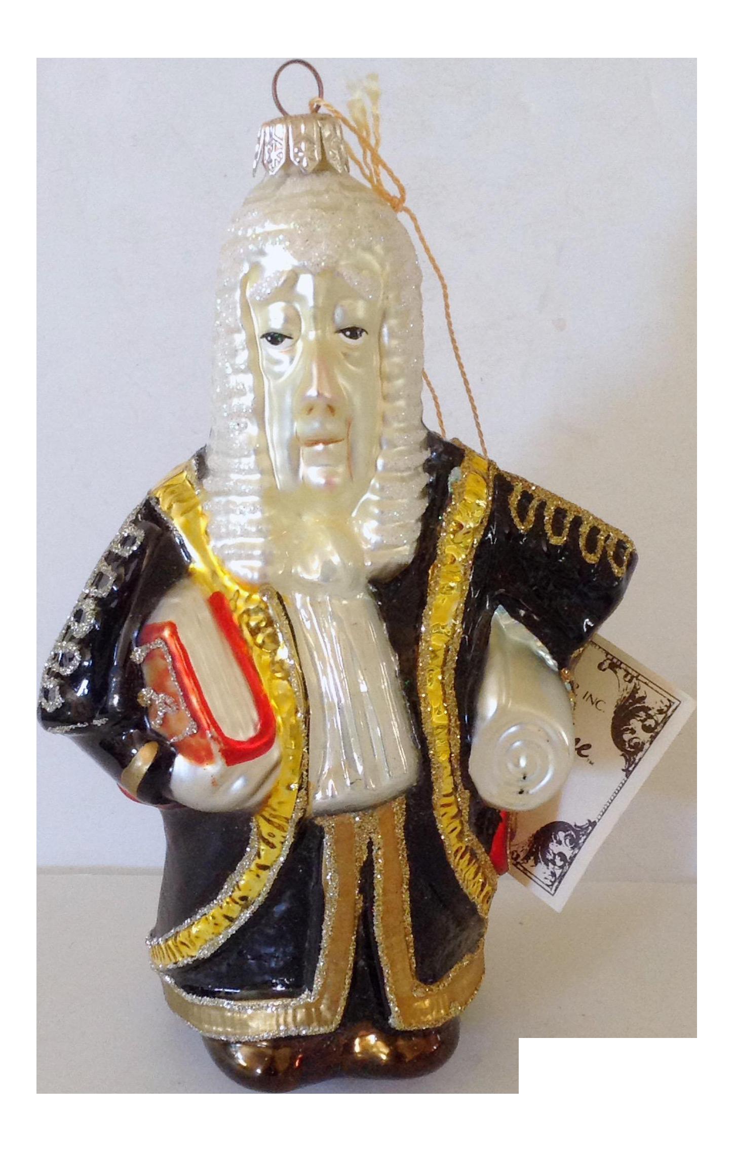 Kurt Adler Polonaise Judge Christmas Ornament Chairish