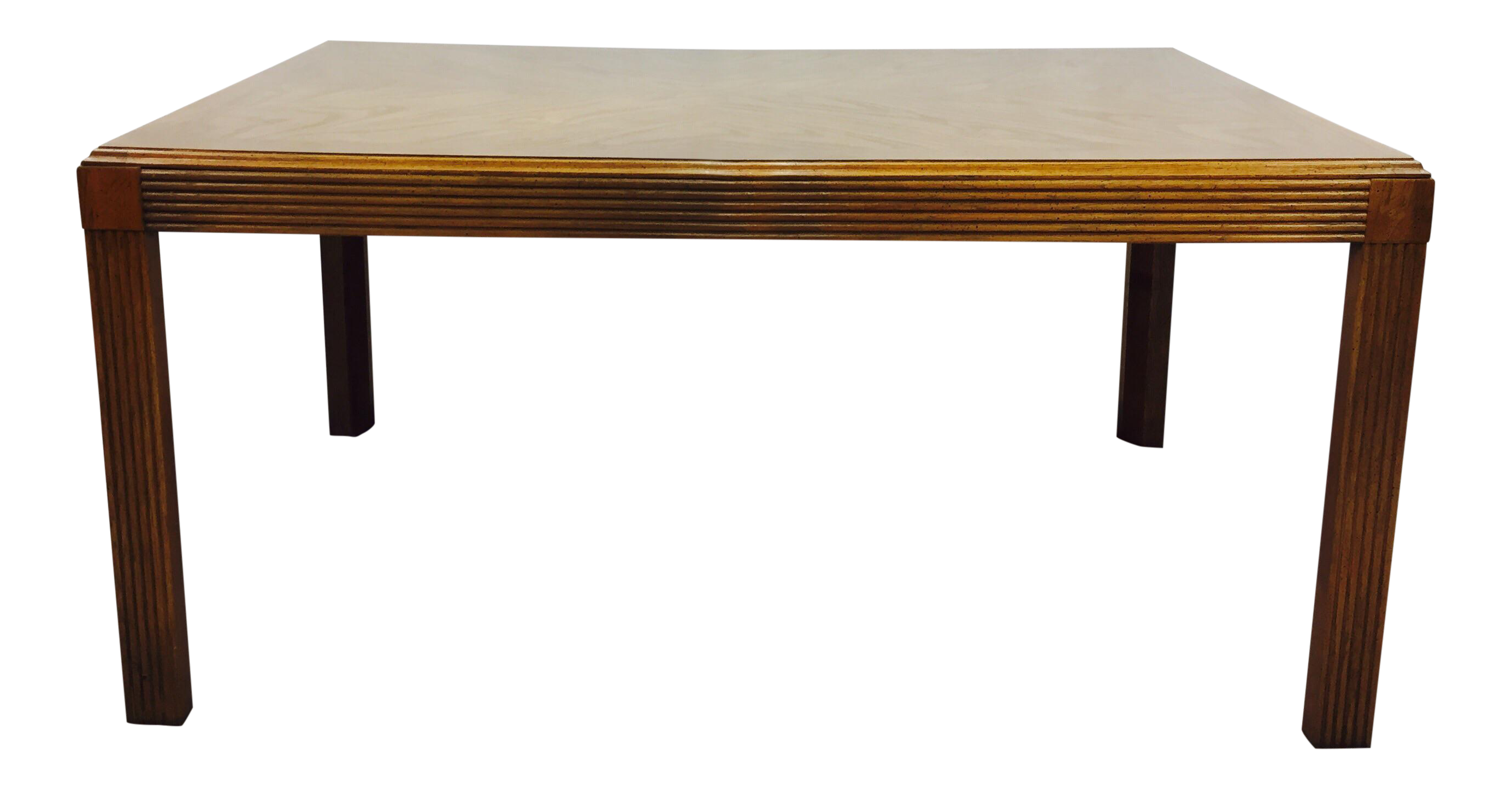 Vintage Mid Century Parsons Dining Table Chairish : vintage mid century parsons dining table 0401 from www.chairish.com size 2768 x 1446 png 2249kB