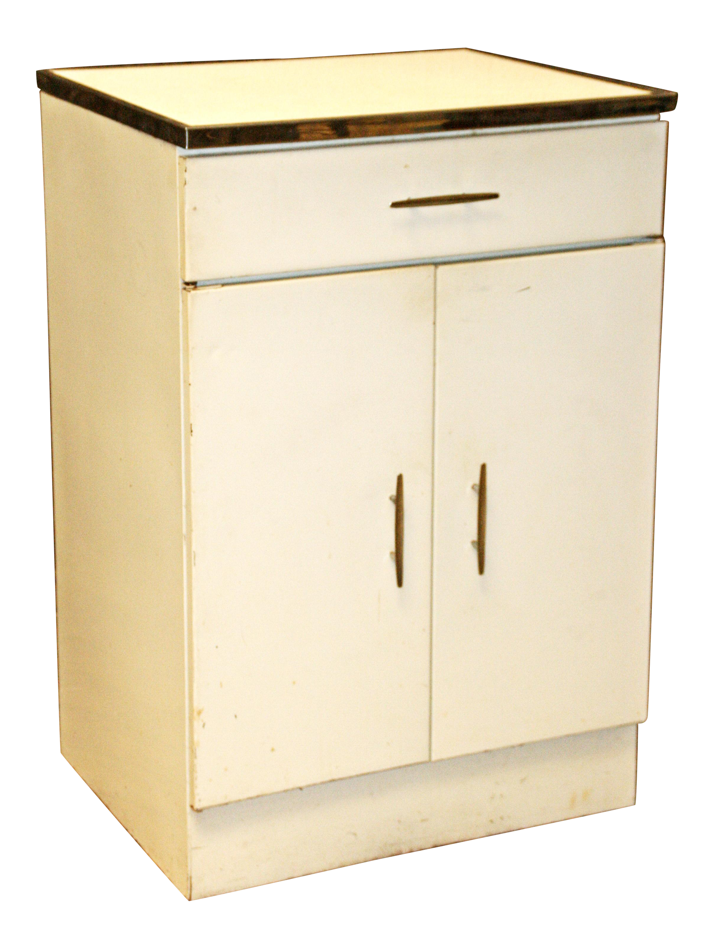 Mid century white metal storage cabinet chairish for Best brand of paint for kitchen cabinets with wire sculpture wall art