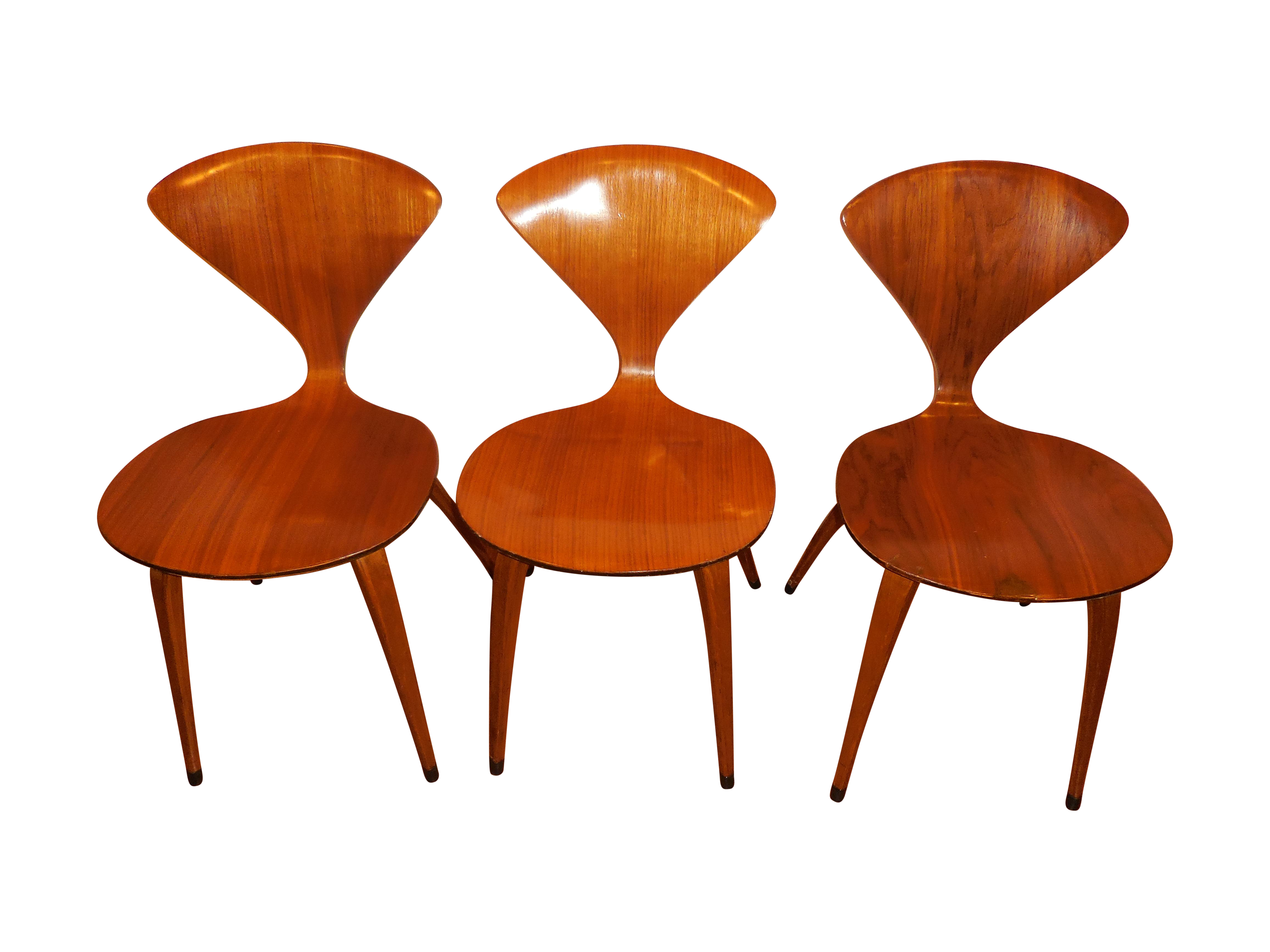 Norman Cherner for Plycraft Ant Chairs Set of 3