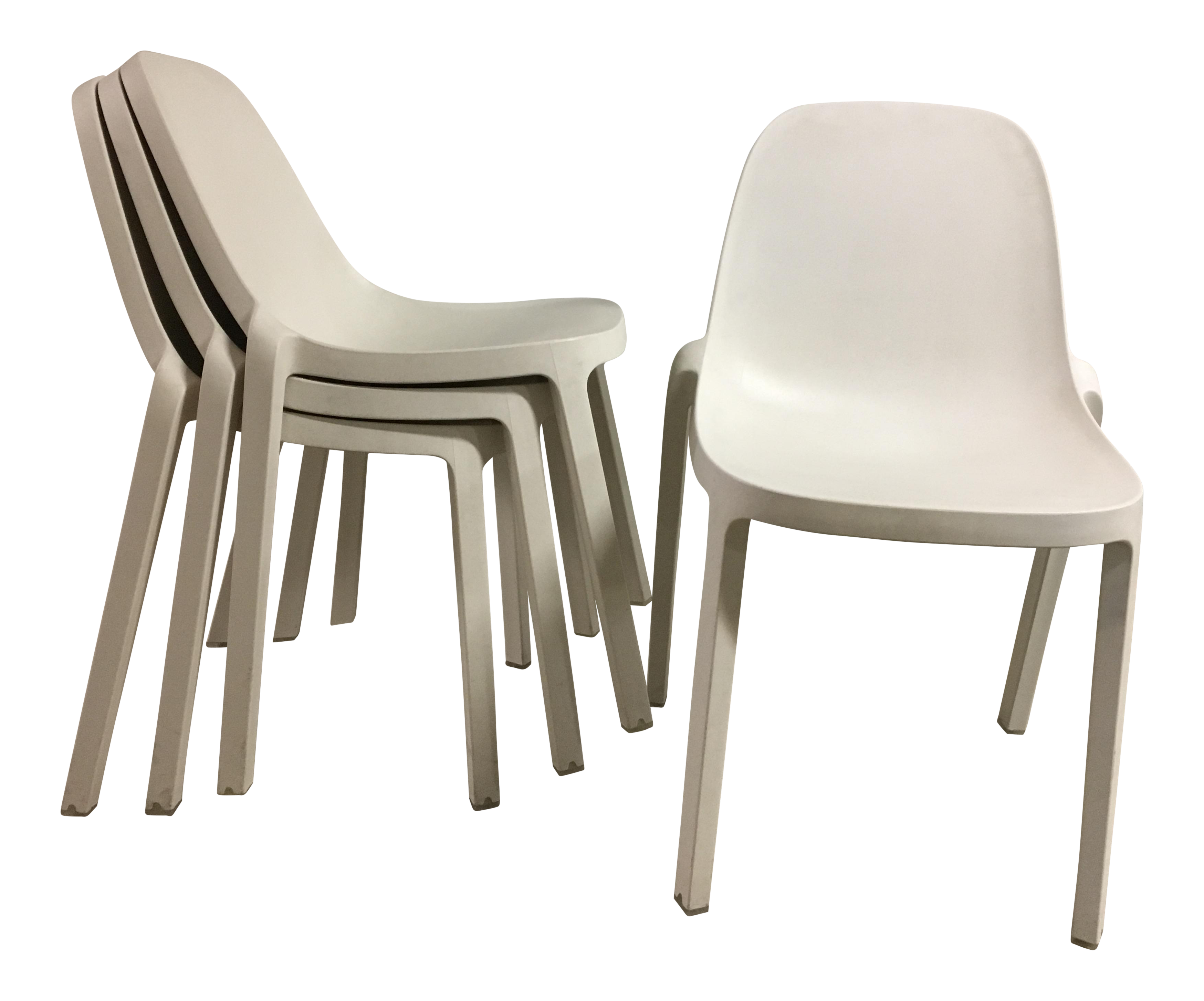 Philippe Starck For Emeco Broom Chairs Set Of 4 Chairish