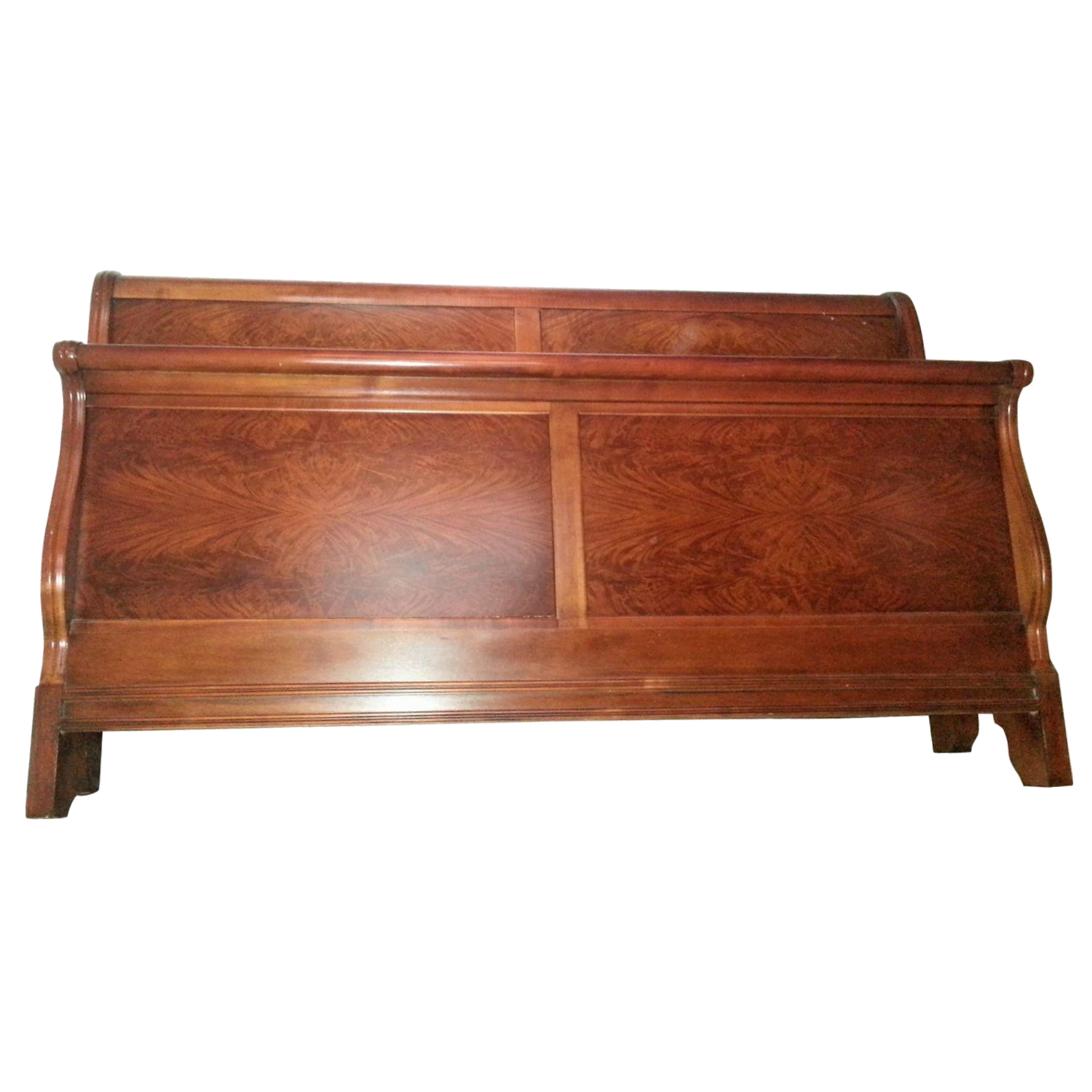 drexel mahogany california king bed frame chairish
