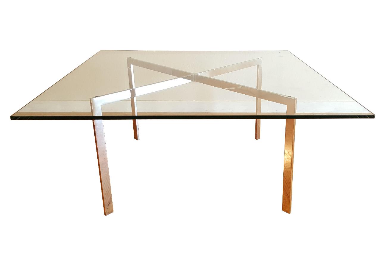 Mies Van Der Rohe Barcelona Coffee Table Chairish