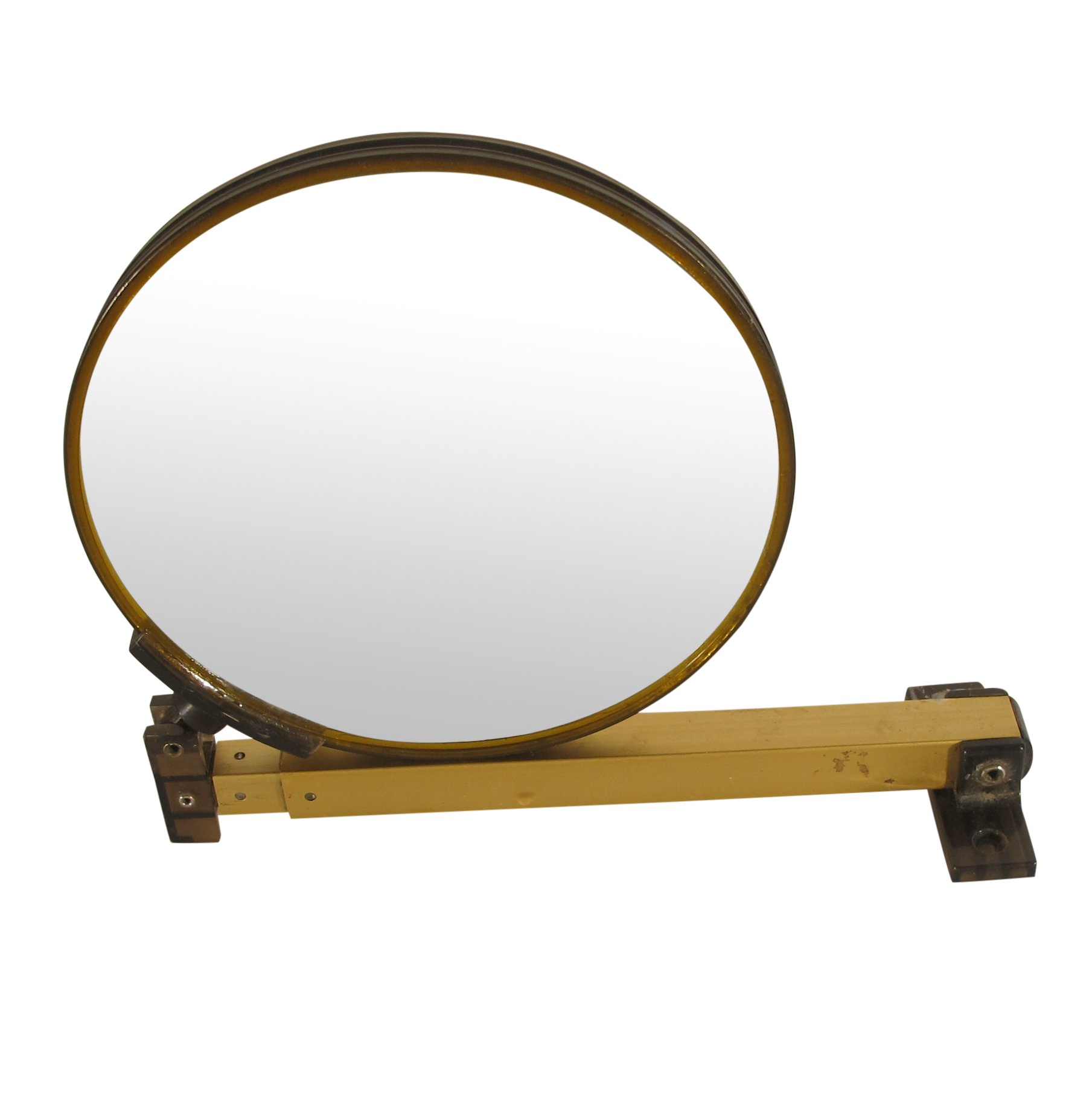 Wall shaving mirror image collections home wall decoration ideas vintage brass wall mount shavingmake up mirror chairish amipublicfo image collections amipublicfo Gallery