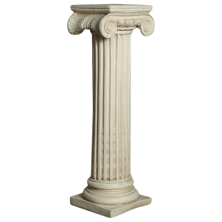Luxury Greek Style Plaster Pedestal Or Column With
