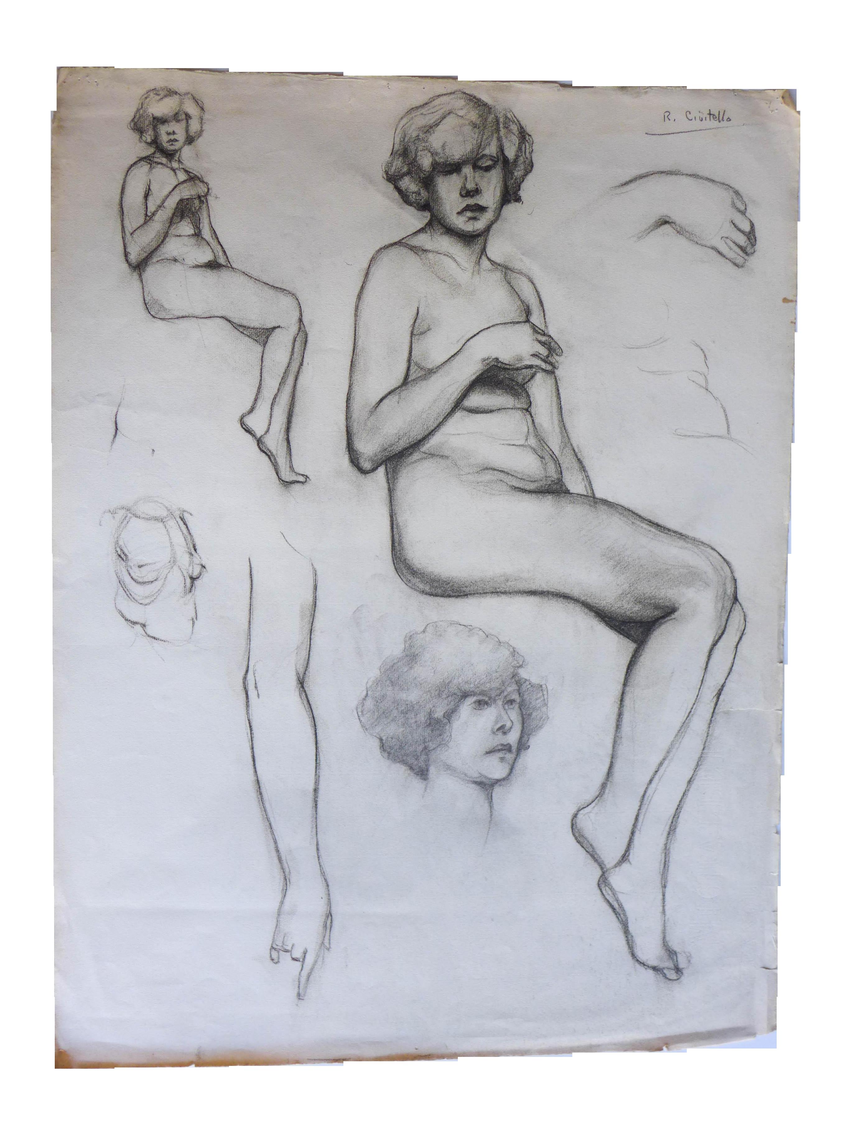 Female Nude Study 102