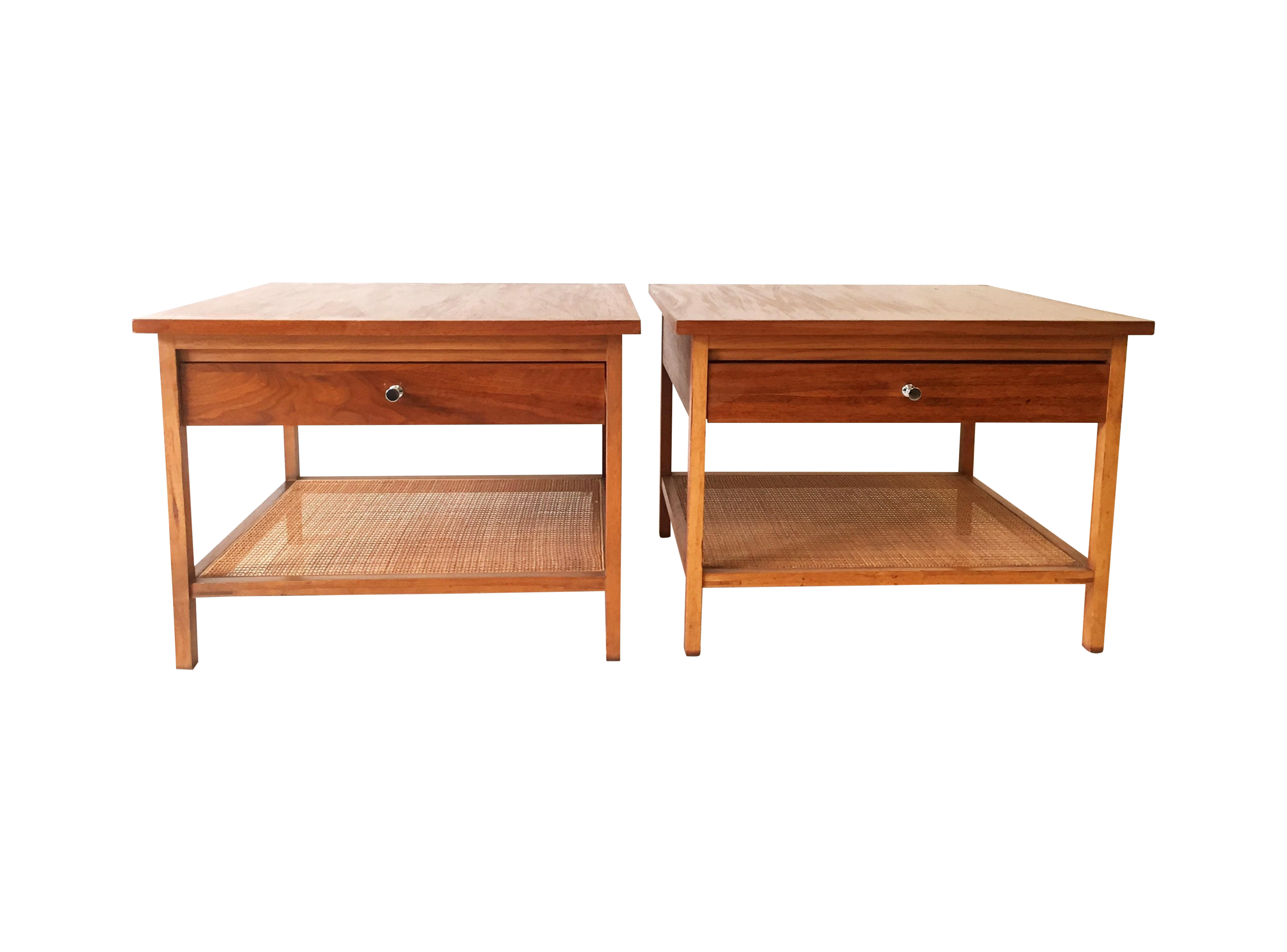 Paul Mccobb Quot Delineator Quot Series Tables A Pair Chairish