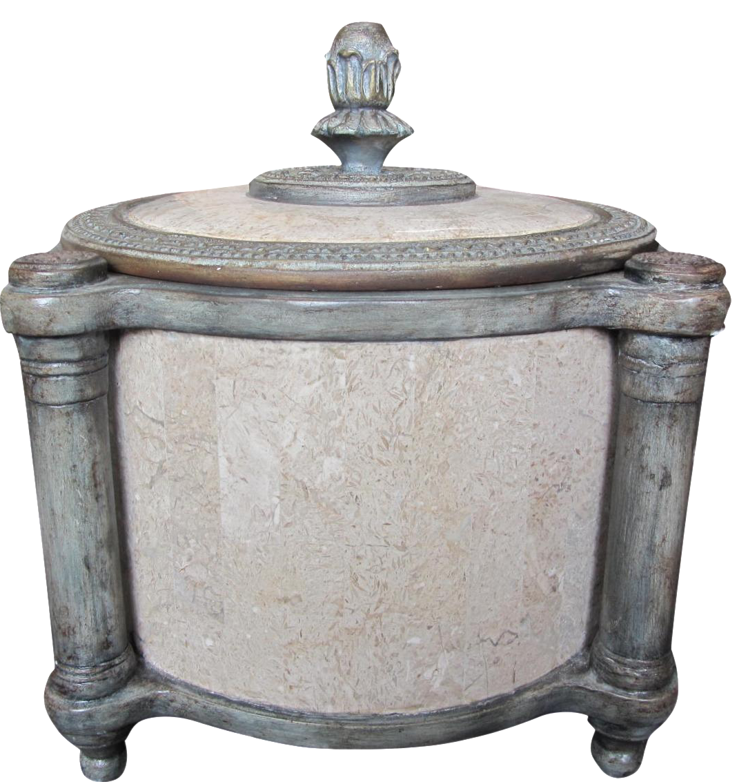 Maitland Smith Marble Urn With Lid Chairish