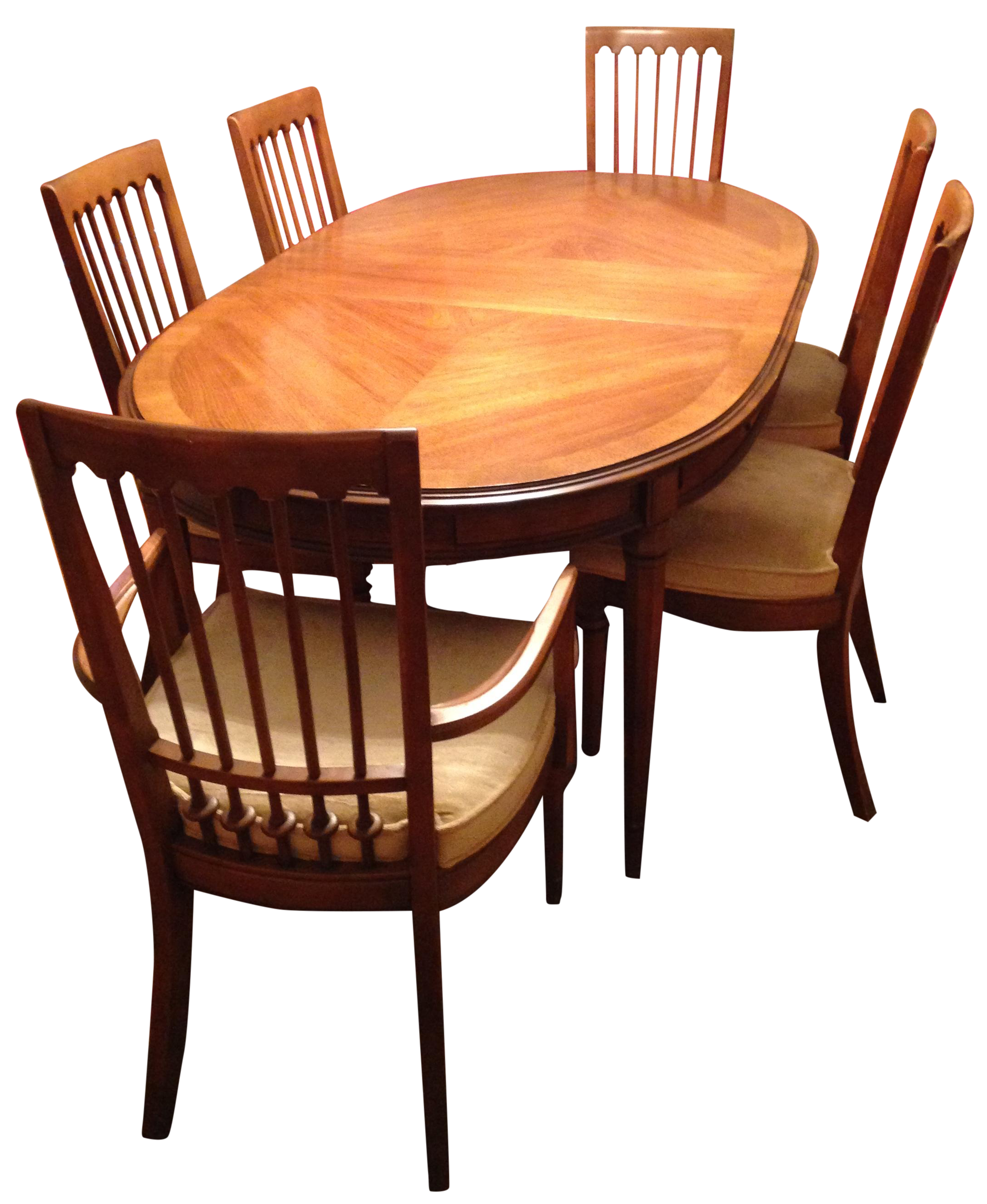image of edward wormley dining table u0026 drexel precedent chairs