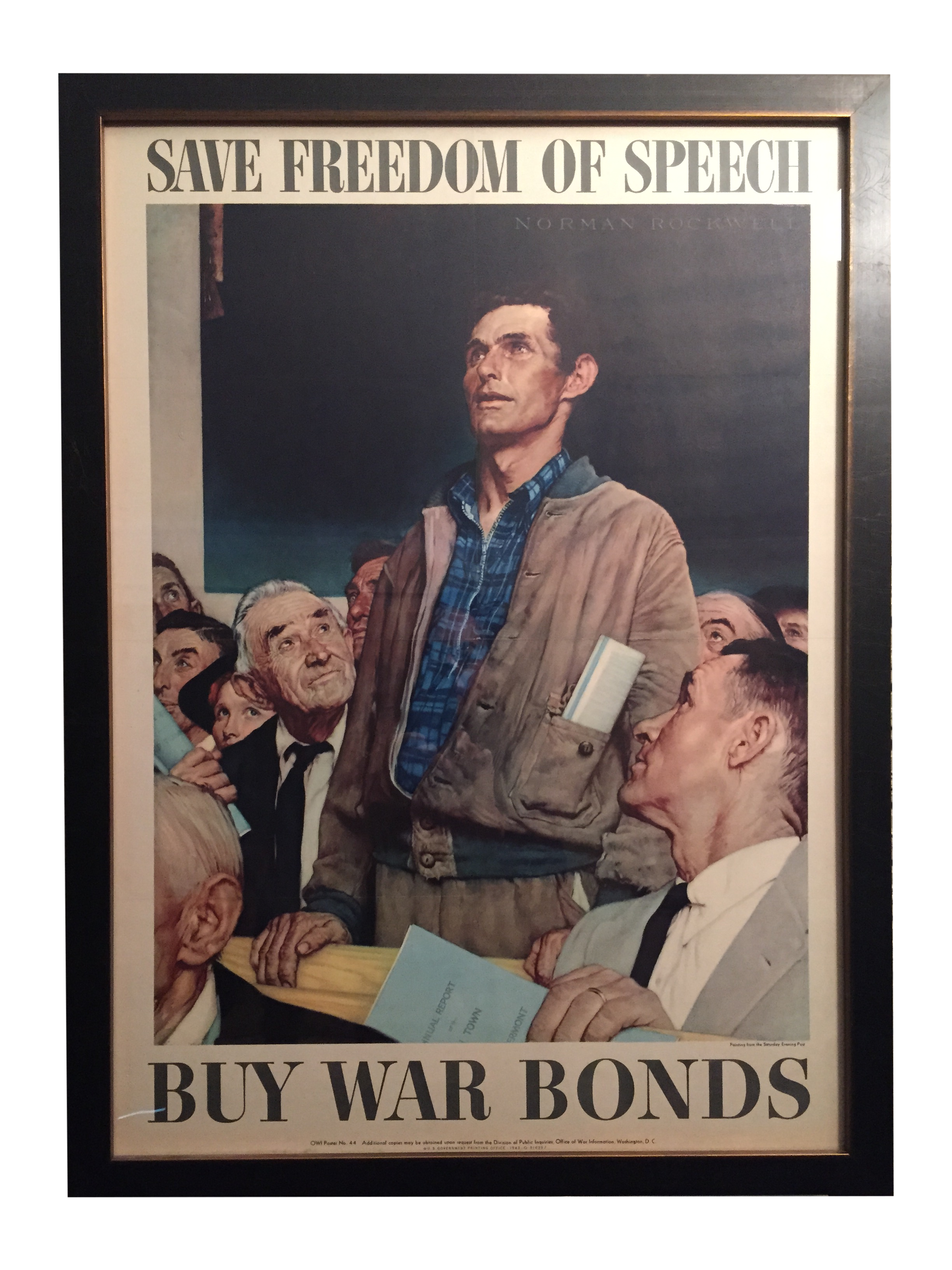Four Freedoms Posters by Norman Rockwell | Chairish