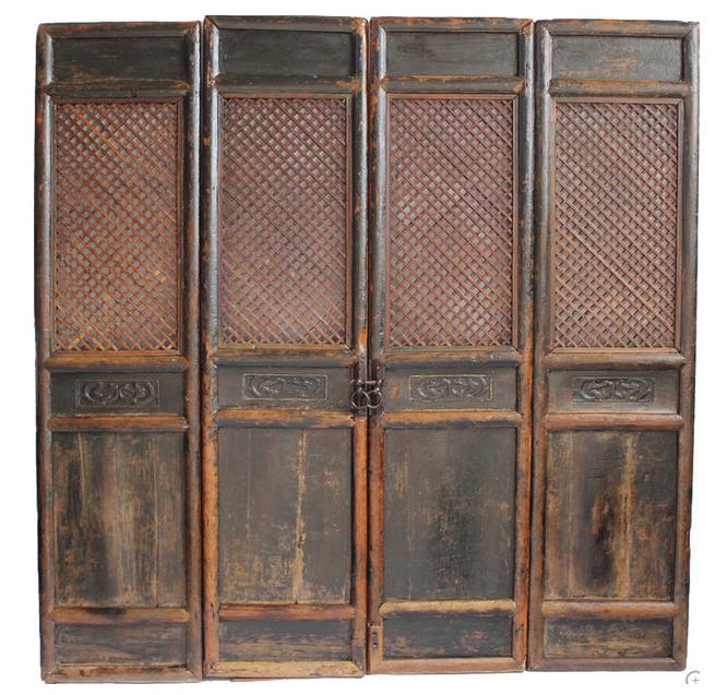 - Antique Chinese Screen Door Panels- Set Of 4 Chairish