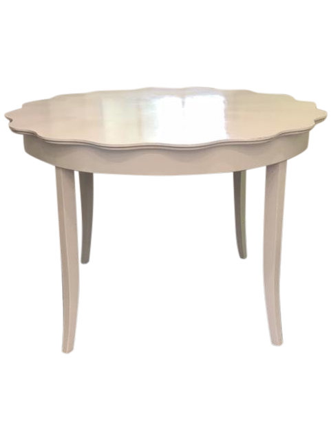 Scalloped Edge Dining Table Chairish : 5f5aa313 8fe8 402f bce3 11267a84a529 from www.chairish.com size 481 x 641 png 115kB