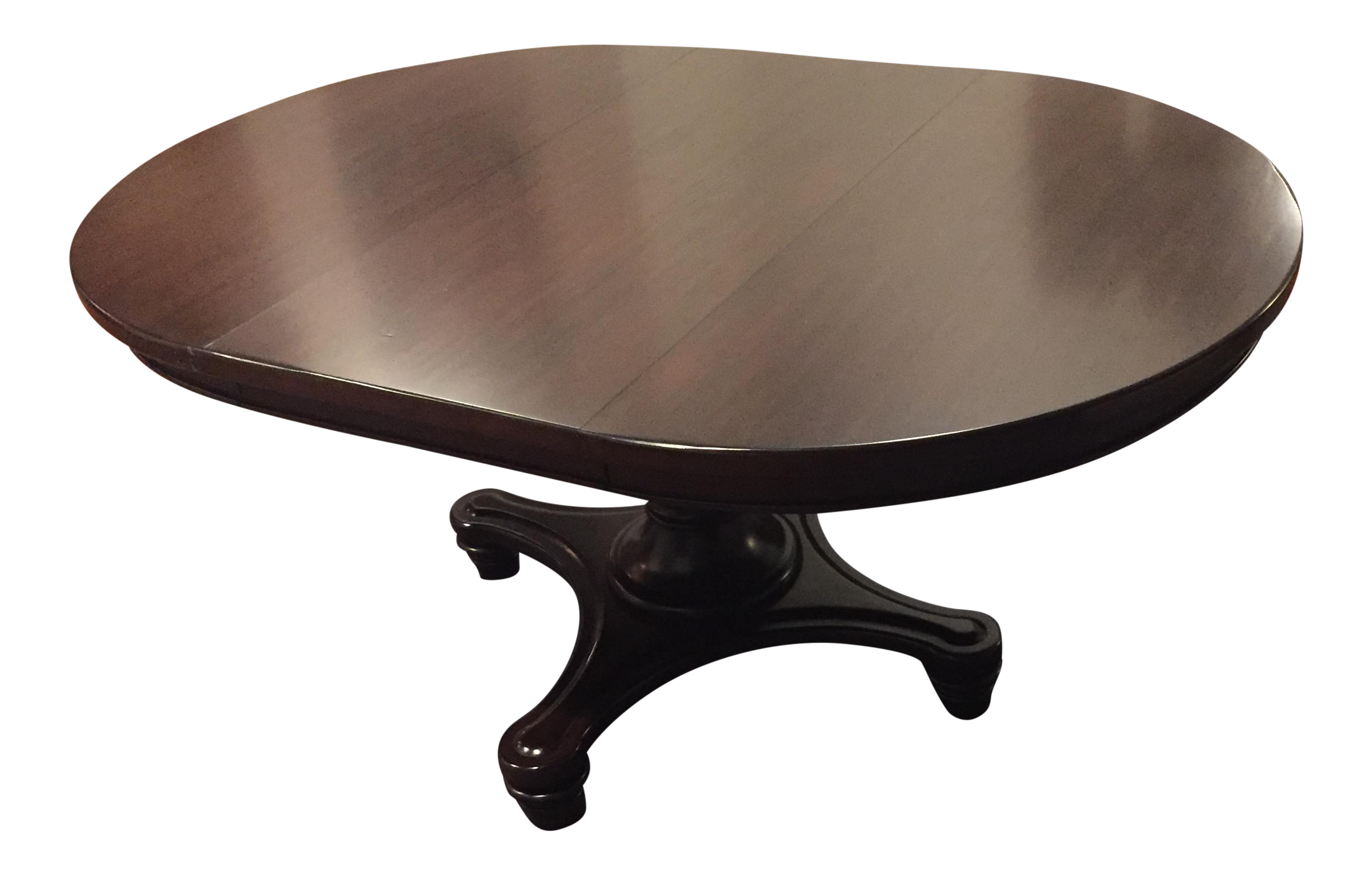 Pottery Barn Montego Pedestal Extension Dining Table Chairish