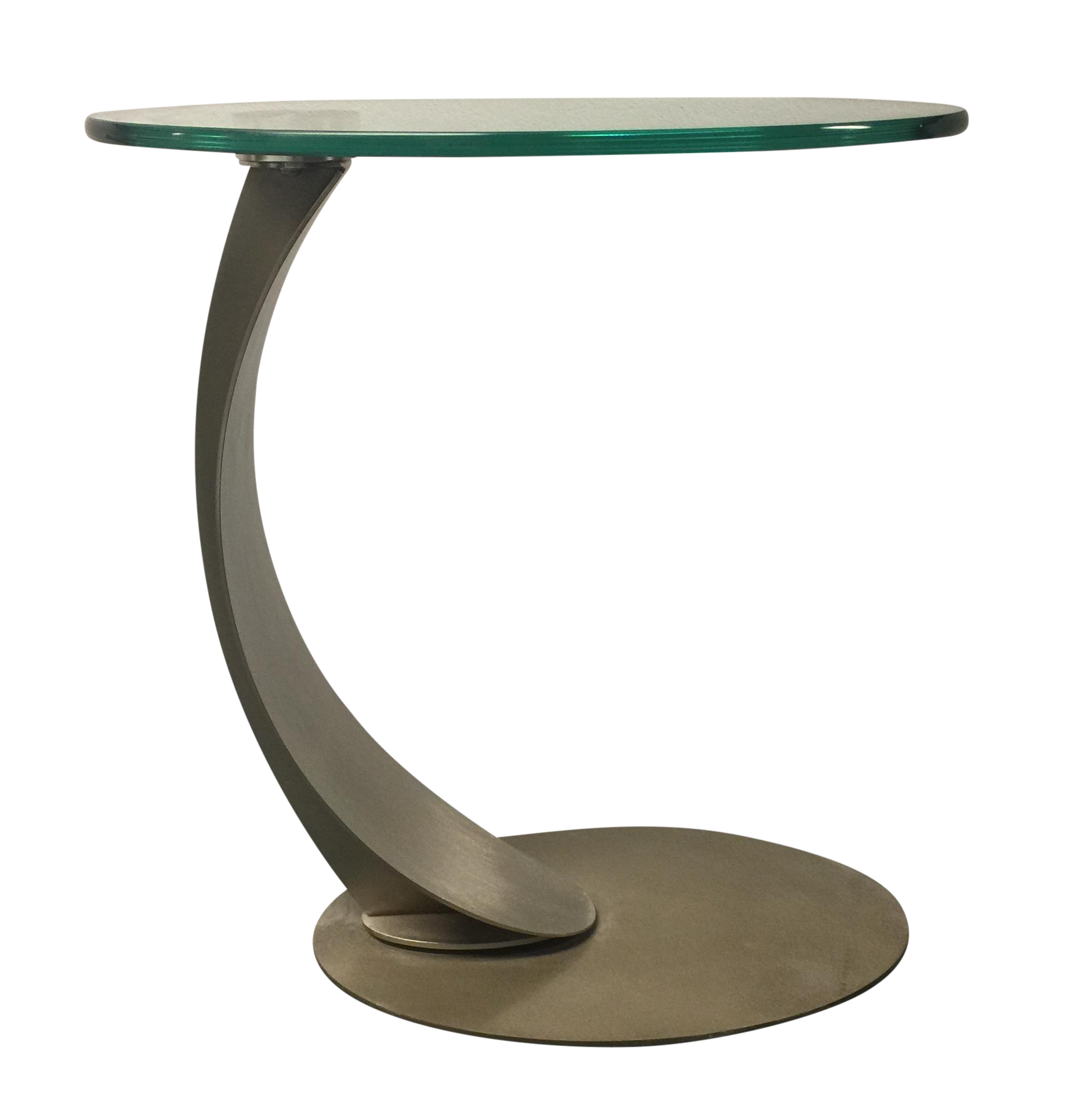 Cantoni Glass Side Table   Chairish