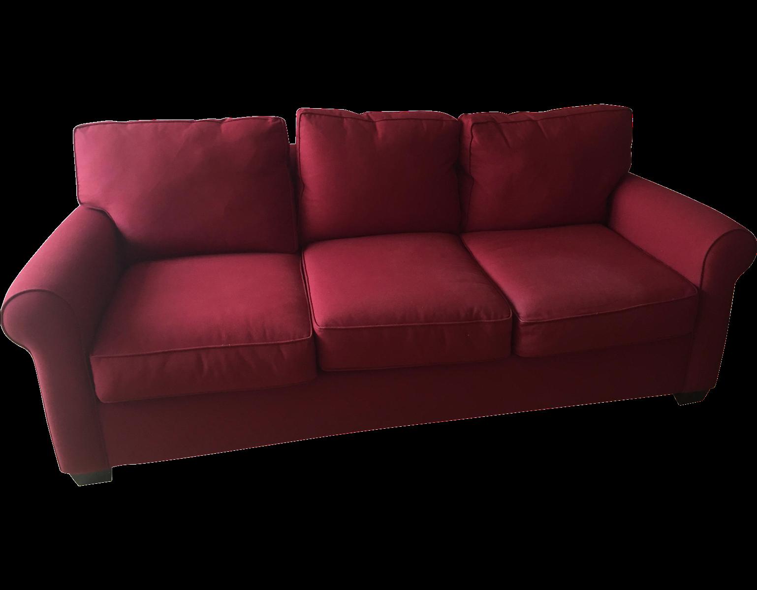 Pottery barn buchanan sofa chairish for Buchanan chaise sofa from pottery barn
