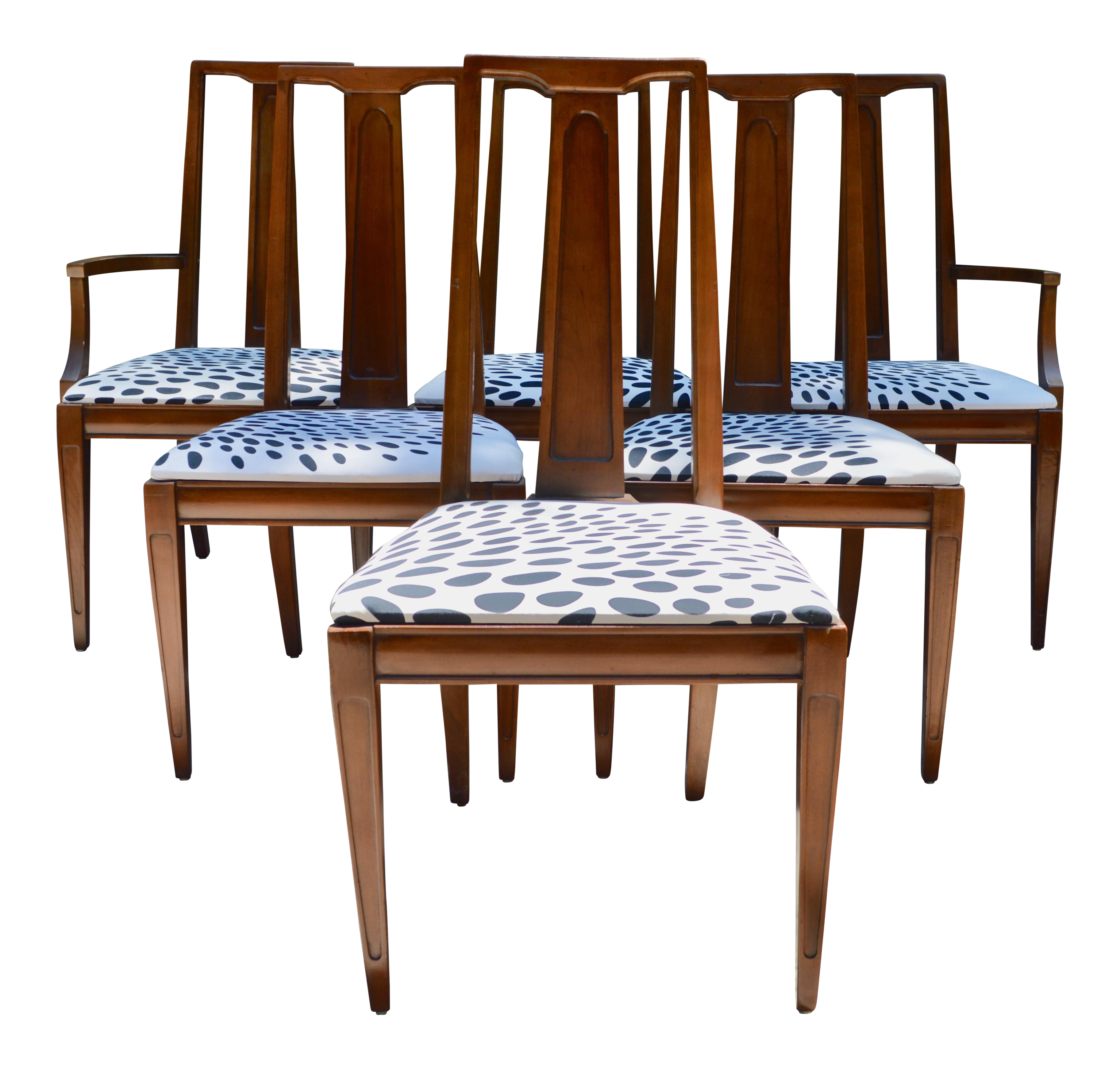 Image Of J.B. Van Sciver Mid Century Dining Chairs   Set Of 6