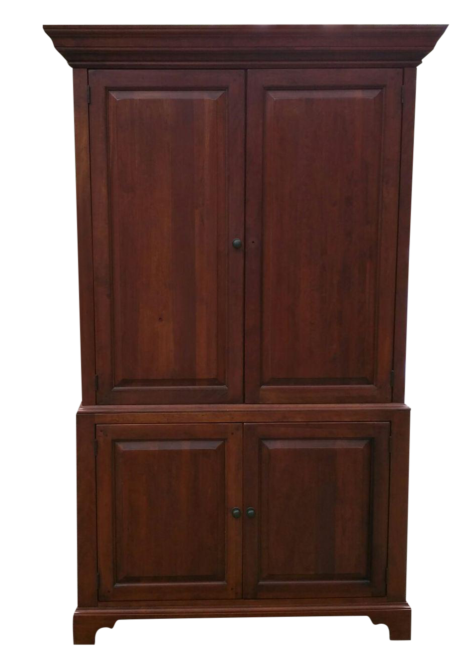 Solid Wood Armoire Tv Cabinet Chairish