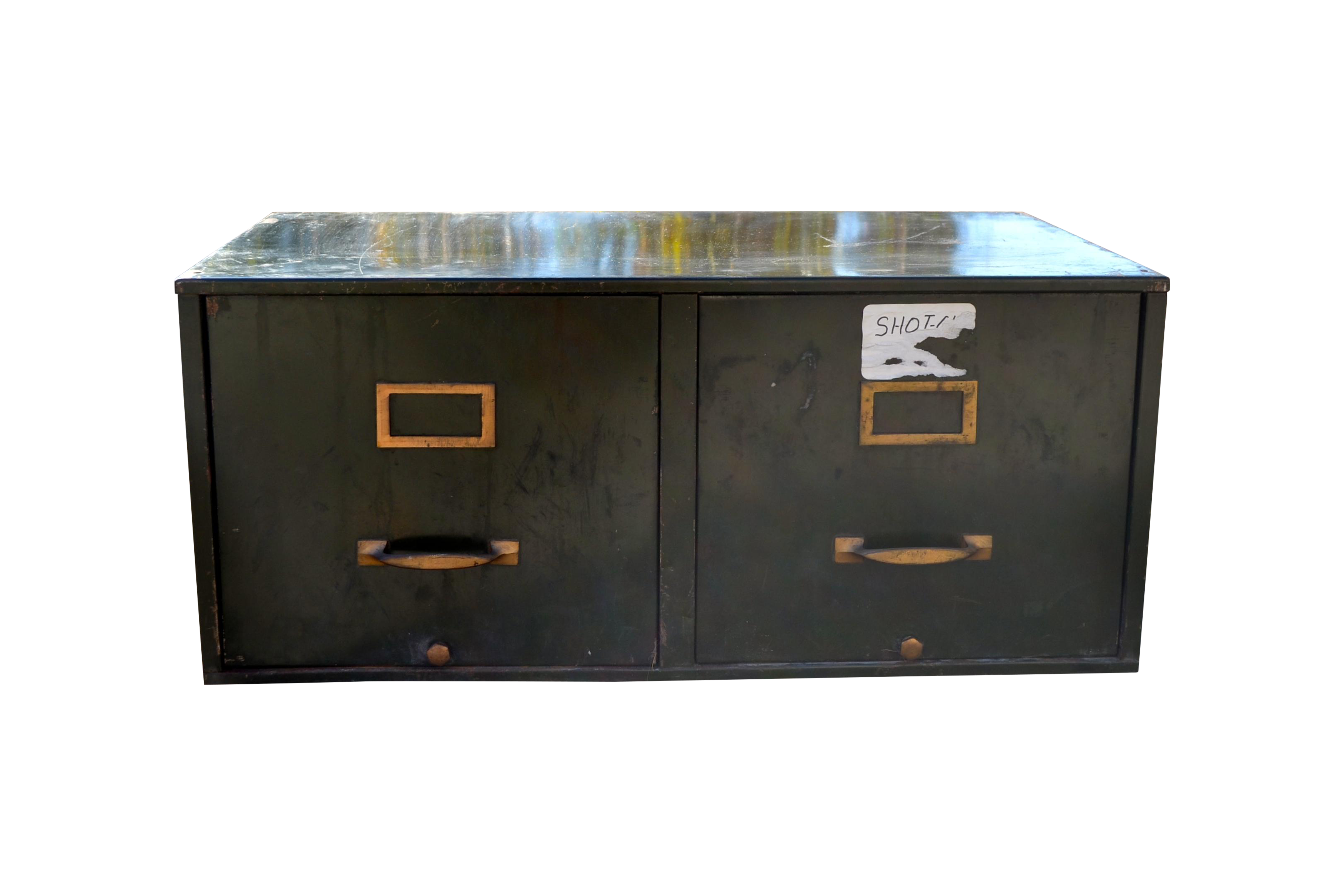 Green File Cabinet Vintage Industrial Green Metal File Cabinet Chairish