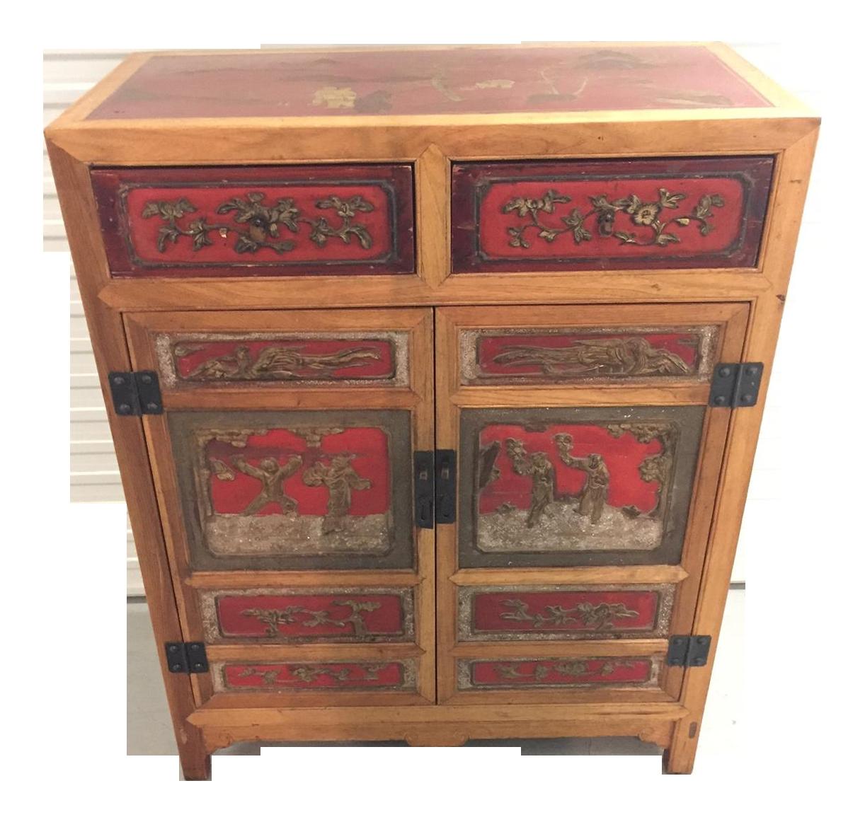 Japanese Kitchen Cabinets: Japanese Antique Cabinet