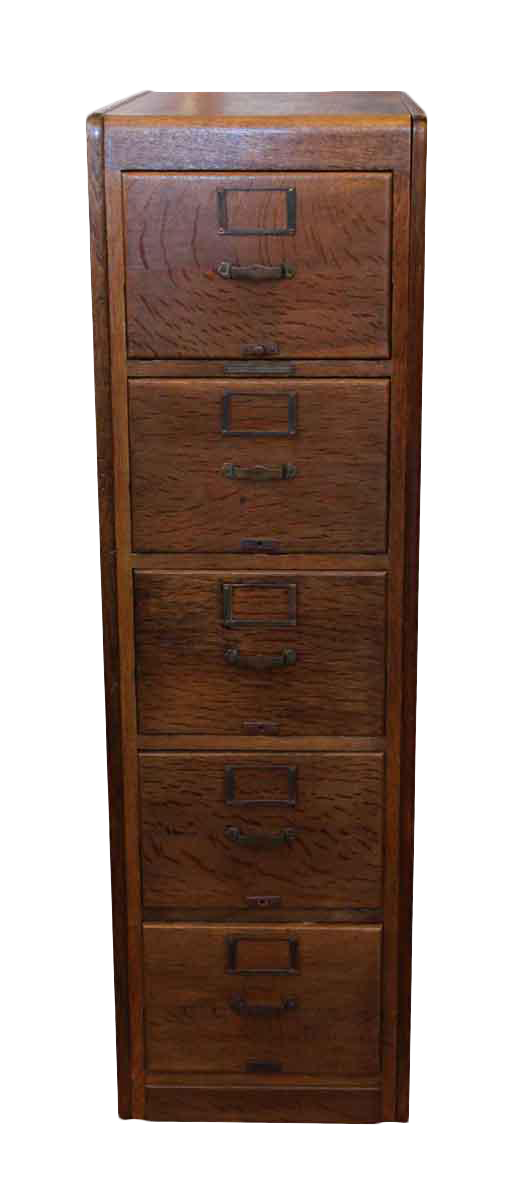library bureau sole makers oak file cabinet chairish. Black Bedroom Furniture Sets. Home Design Ideas
