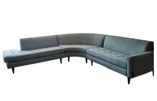 Room Board Curved Reese Sectional Chairish