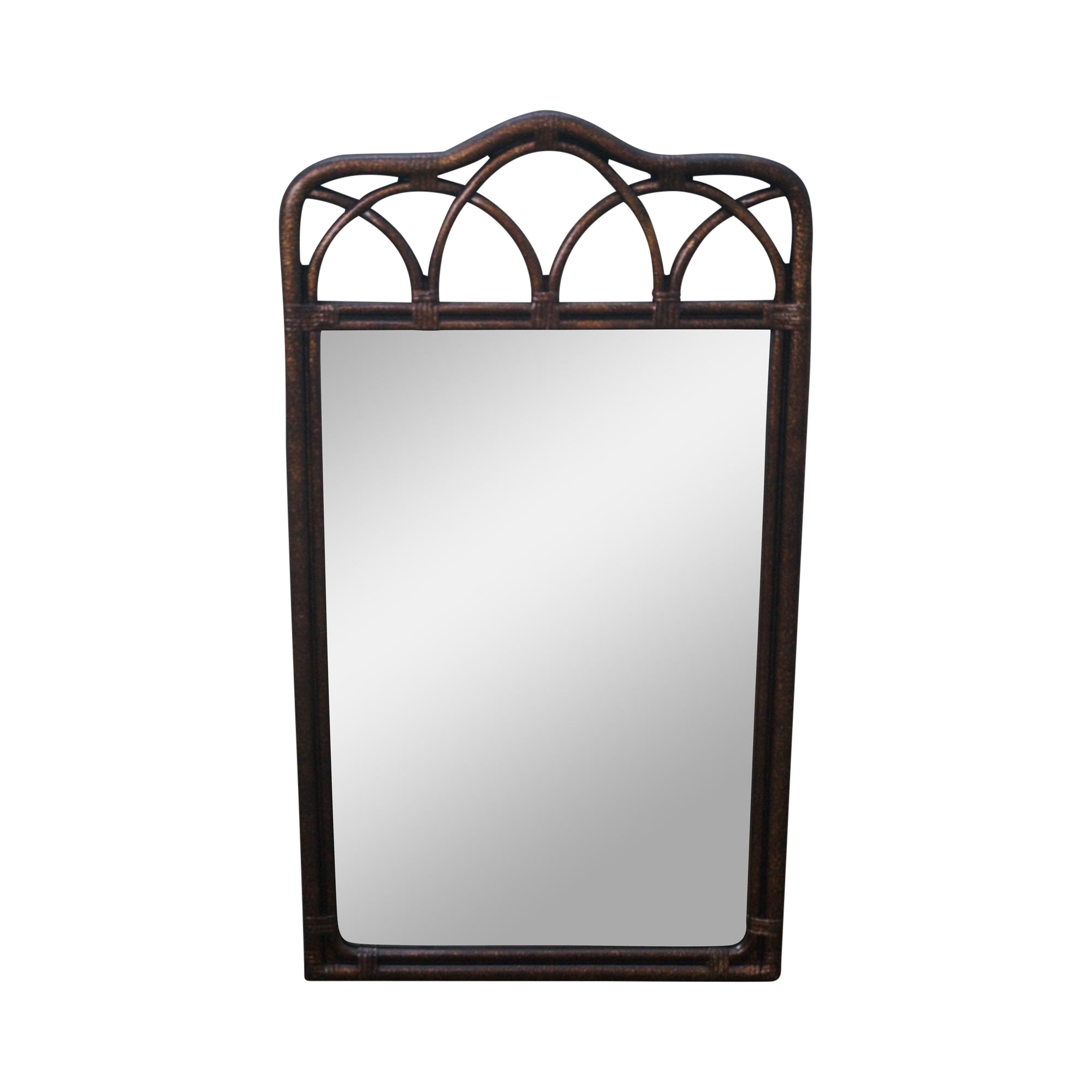 Drexel Heritage Quot Malay Quot Collection Faux Bamboo Wall Mirror