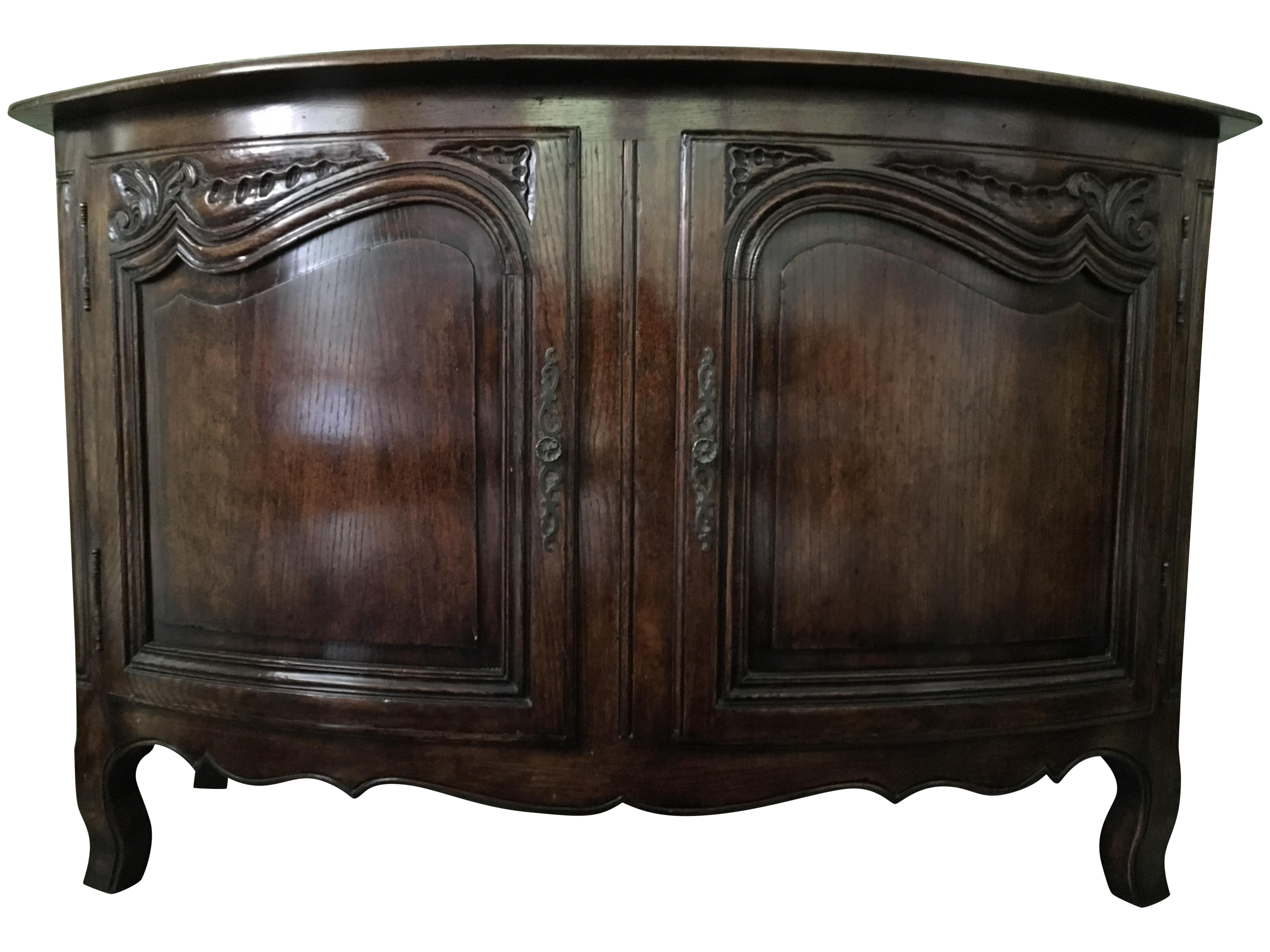 Minton Spidell French Bow Front Chest Chairish