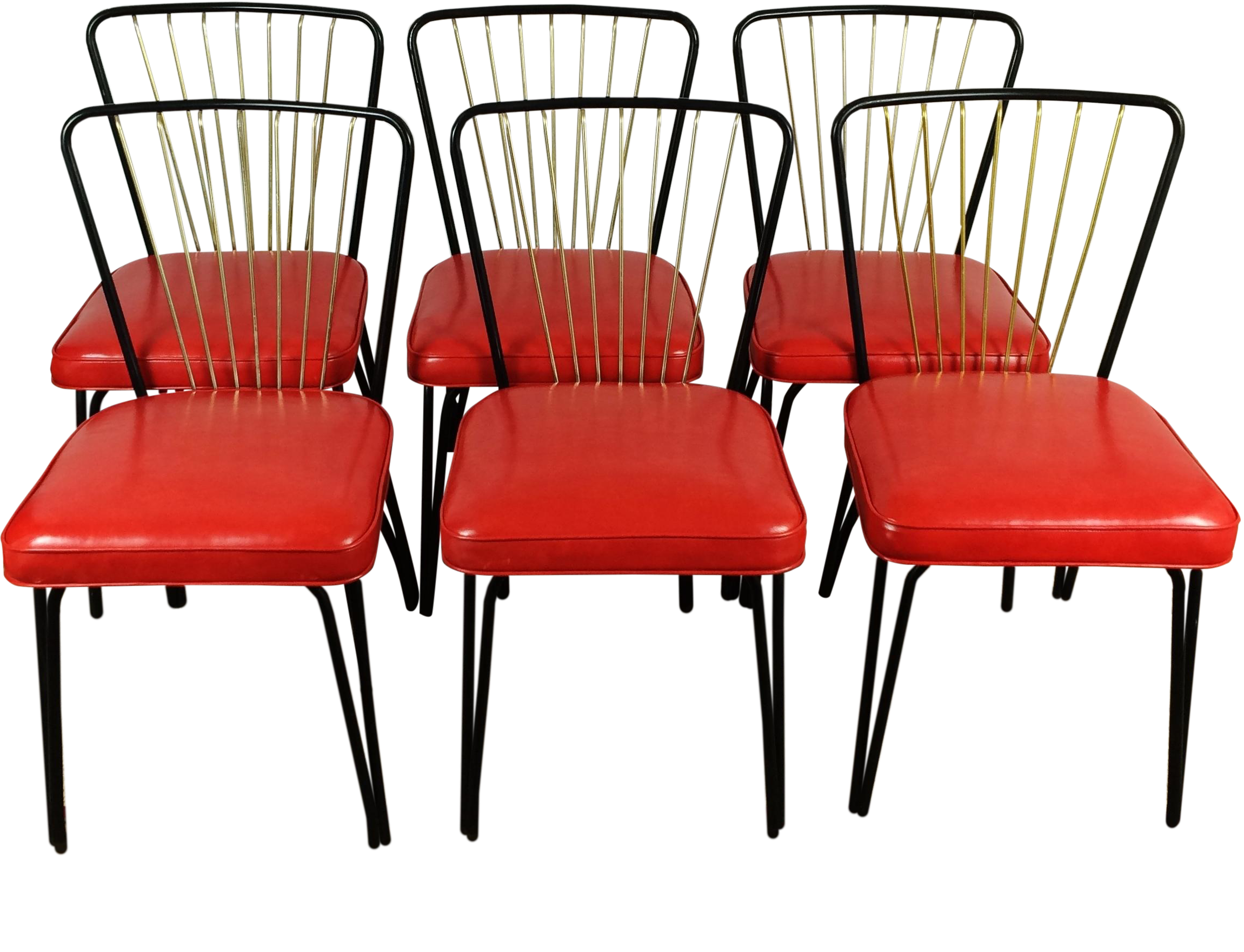 Lloyd Heywood Wakefield Dinette Chairs S 6 Chairish