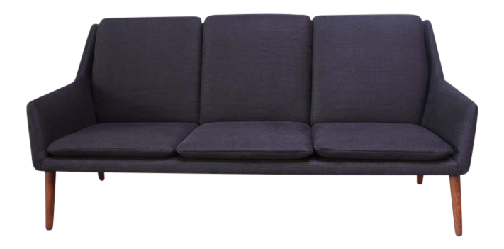 Superior Danish Modern Sofa by Erik Ostermann and H Hpner