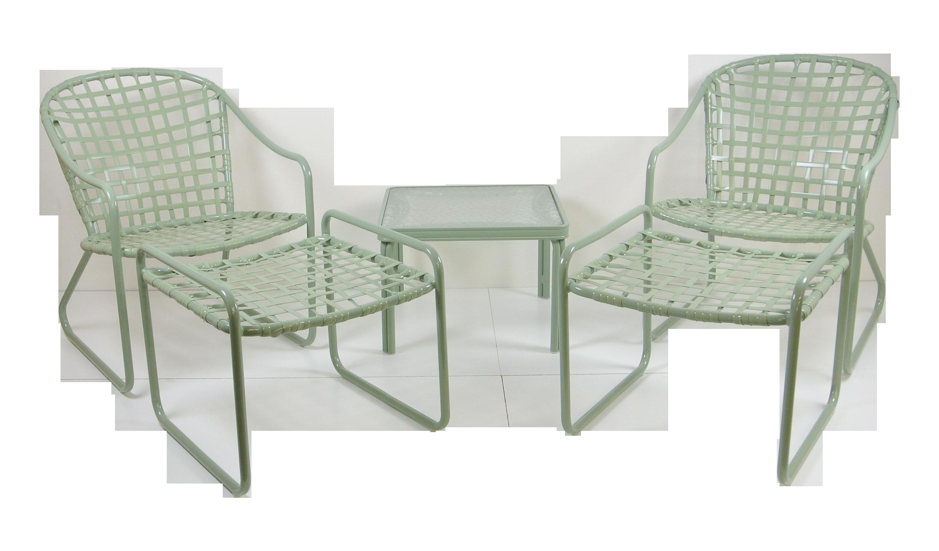 Brown Jordan Vintage Patio Furniture Set Of  Chairish - Jordan outdoor furniture