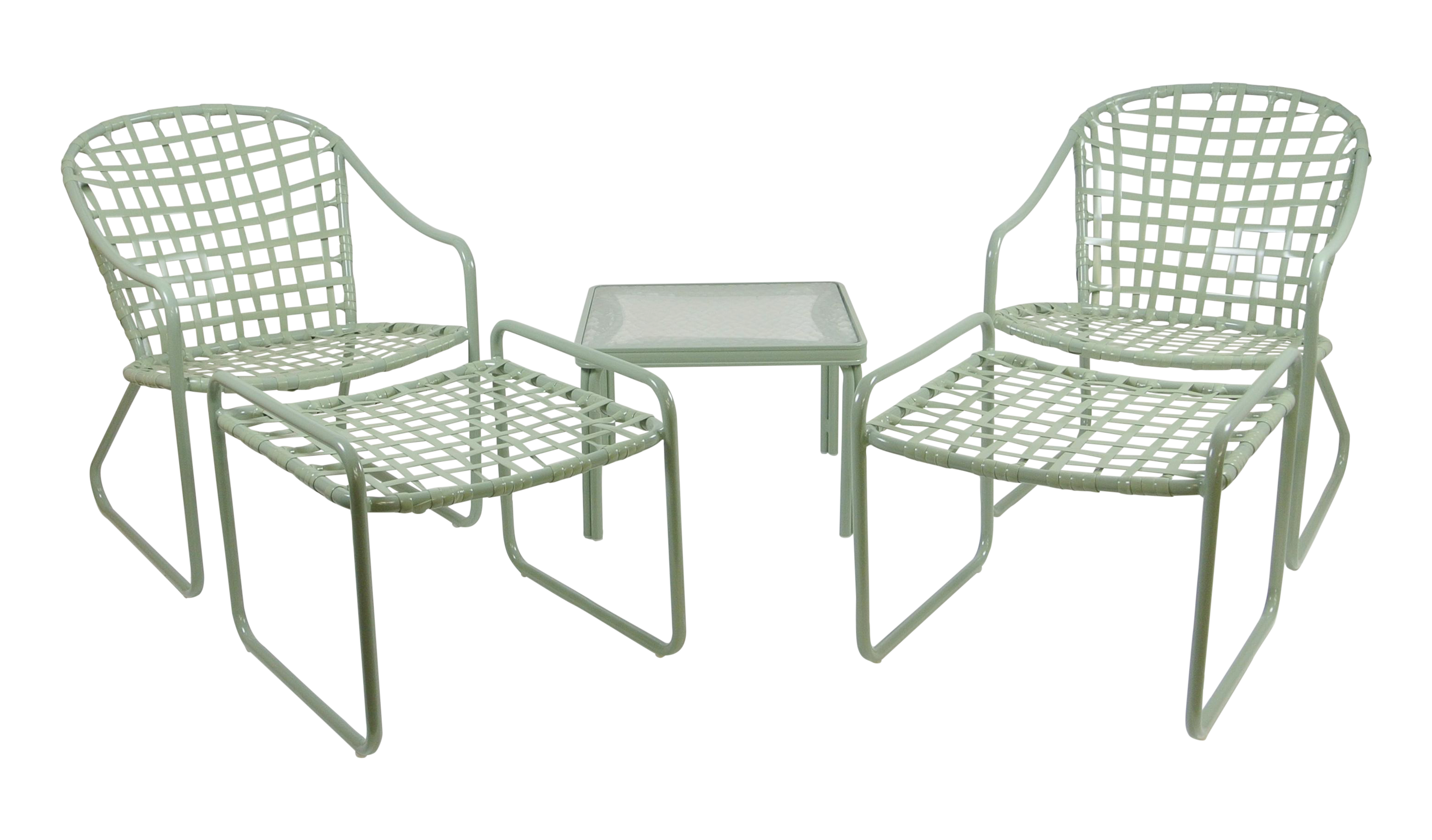 Brown Jordan Vintage Patio Furniture Set Of 5