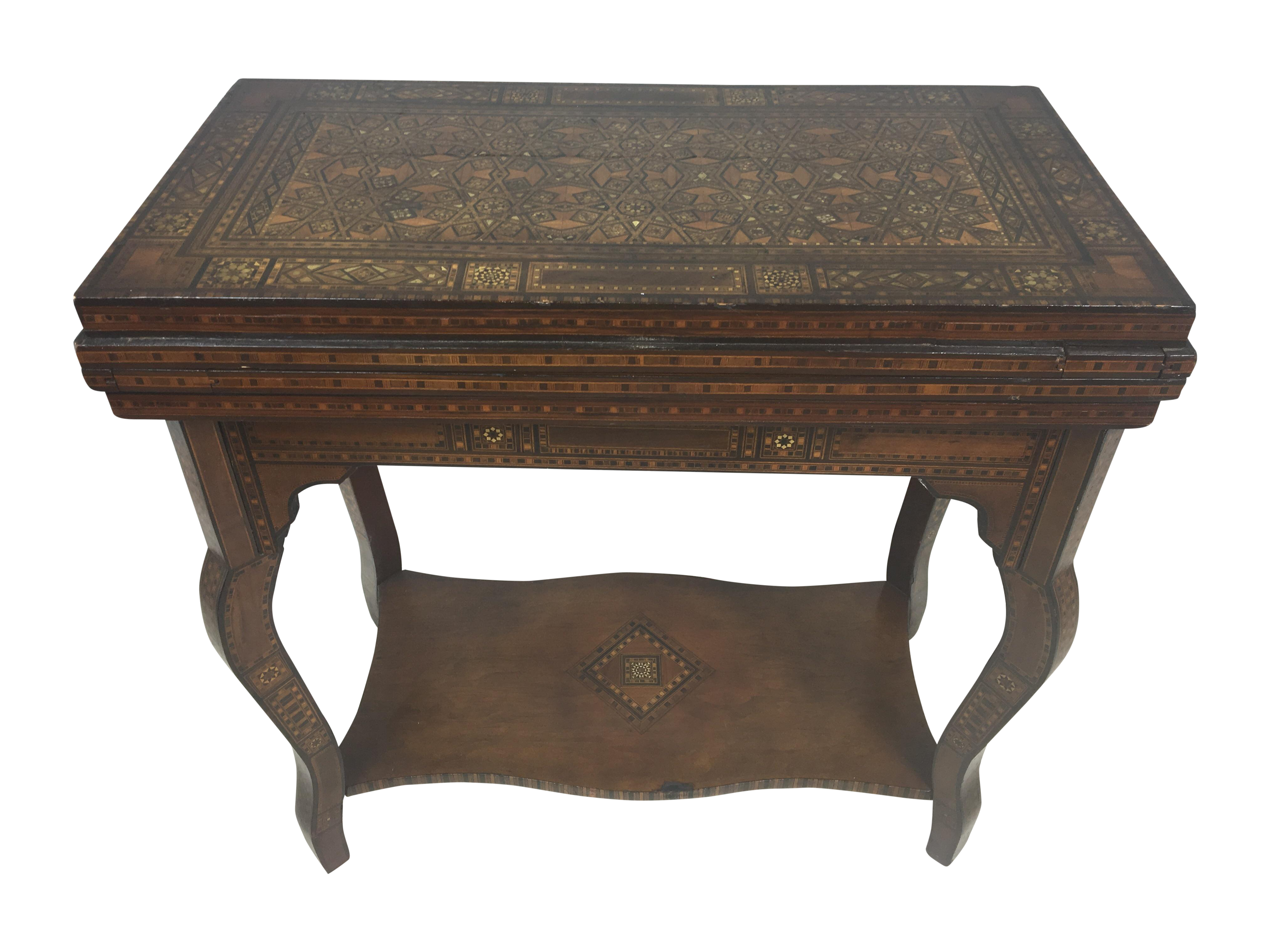 1930 s Moroccan Game Table