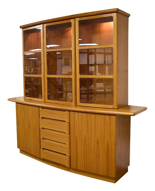 Skovby Danish Teak China Cabinet Chairish