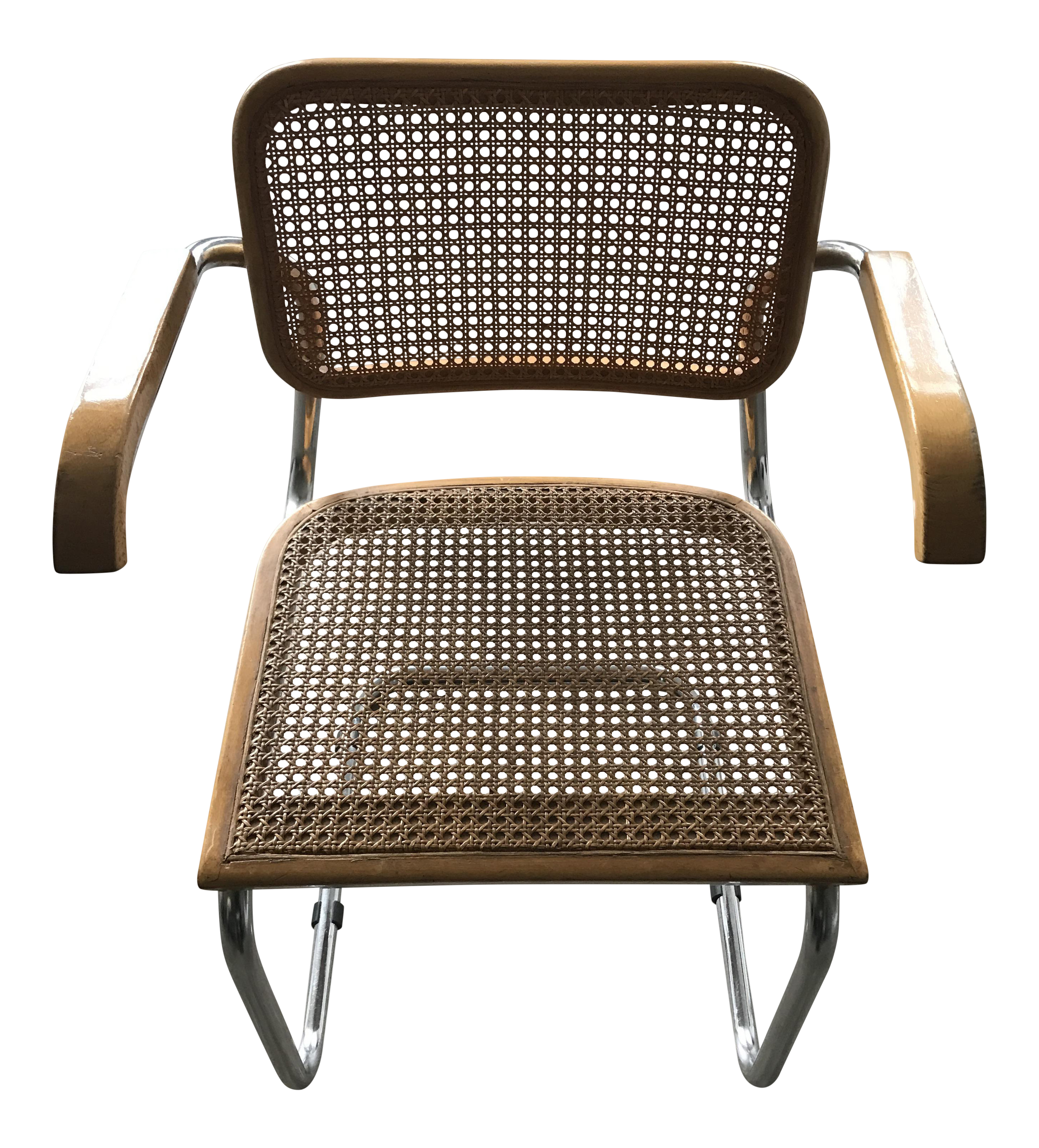 "Distinguished 1950""s ""Cesca"" chair by Marcel Breuer Gavina"