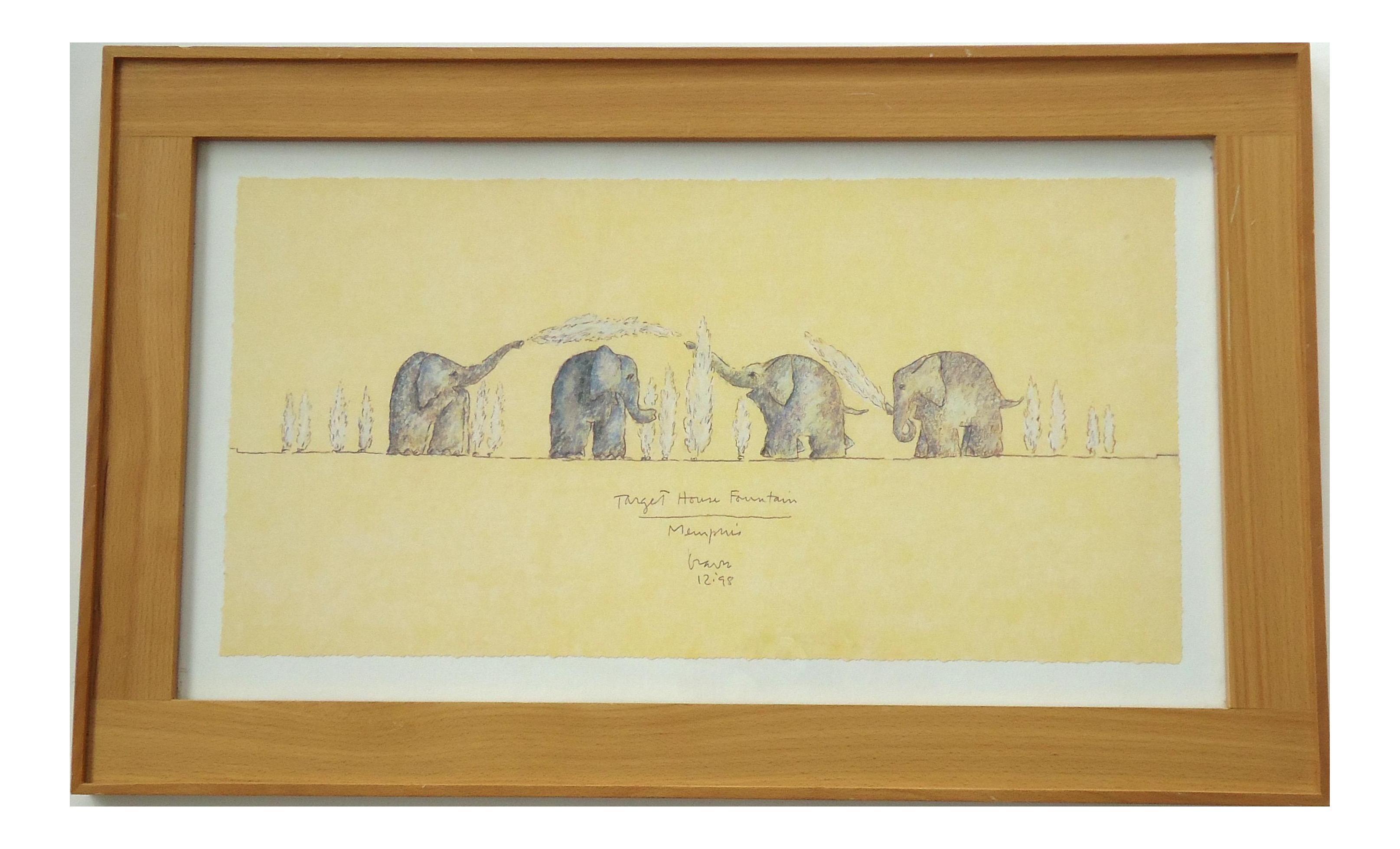 Elephant Fountain By Michael Graves Chairish