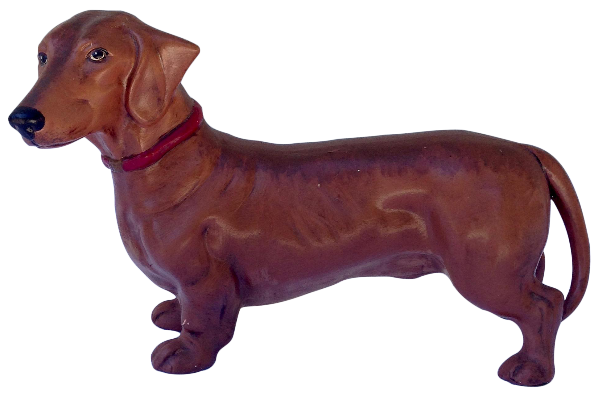 Ceramic Dachshund Dog Figurine Chairish