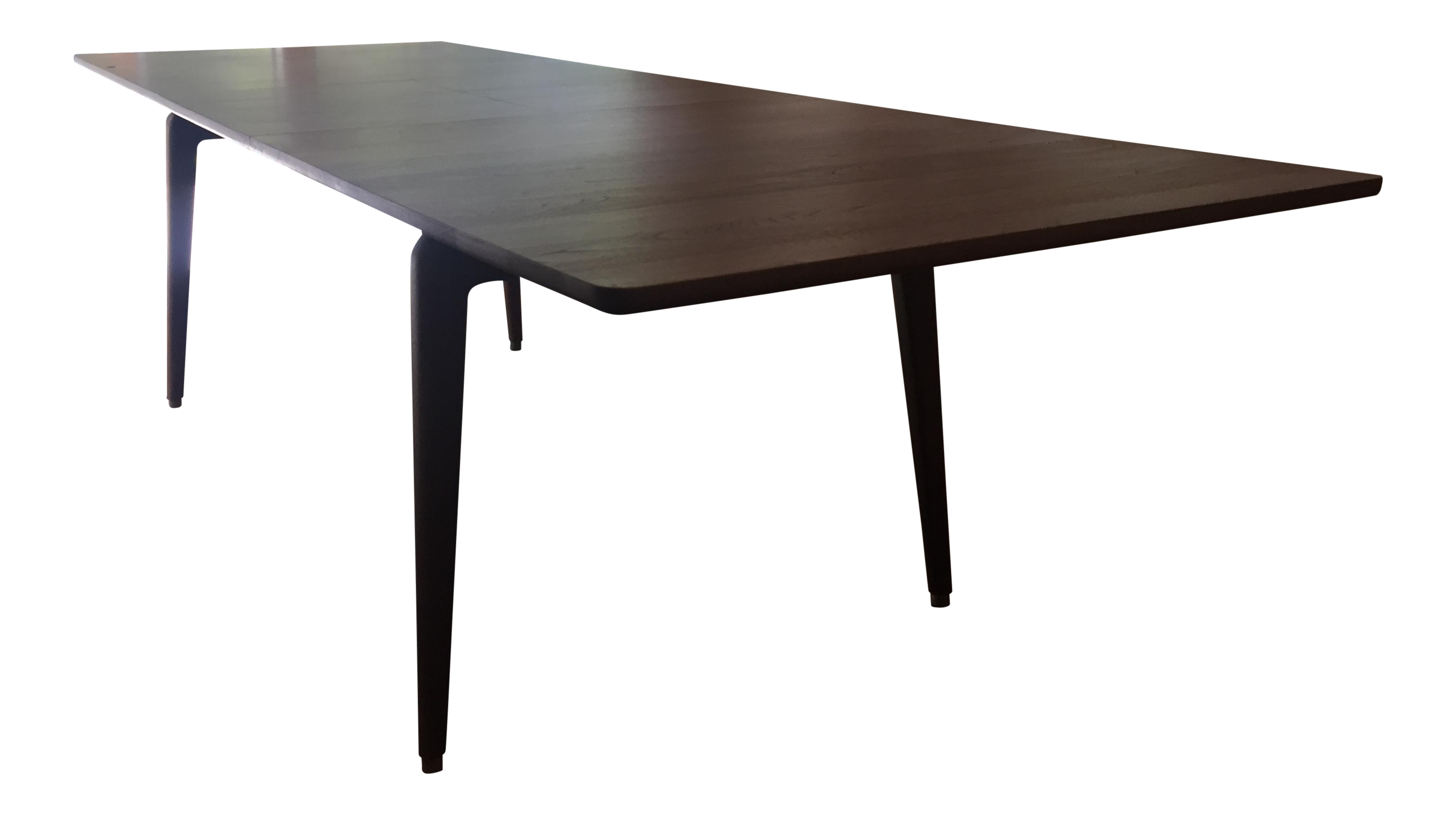 Dwr odin walnut rectangular extension table chairish geotapseo Gallery