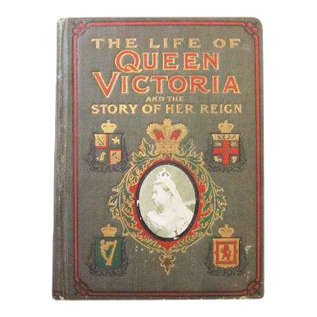 Quot The Life Of Queen Victoria And The Story Of Her Reign Quot 1901 Antique English Book