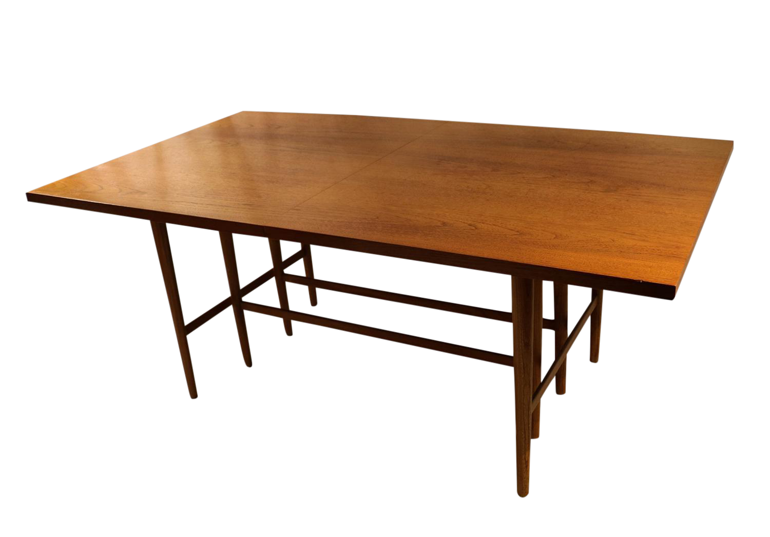 Paul mccobb irwin collection mid century dining table for Table 6 to 16