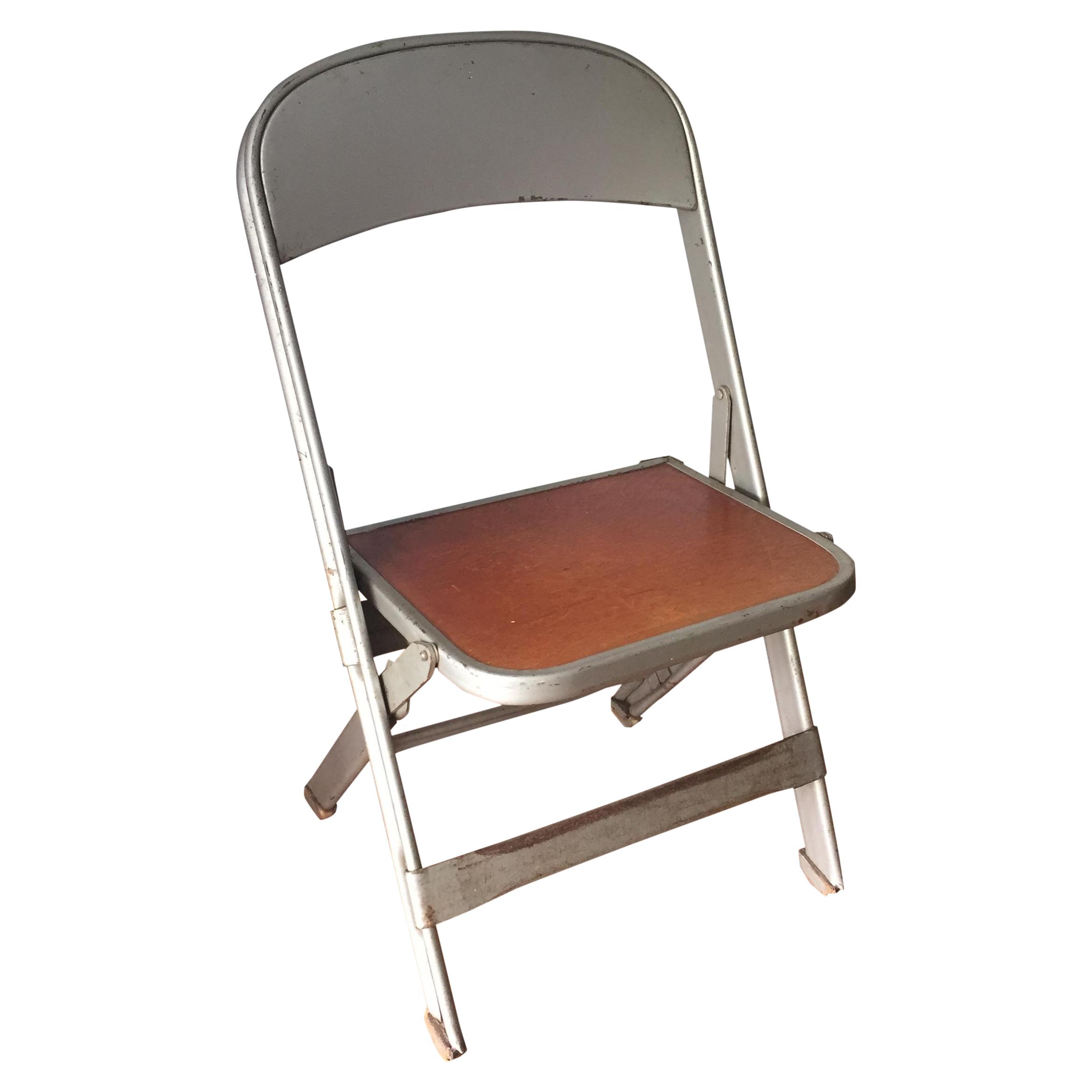 Vintage Metal School Photo Child S Chair Chairish