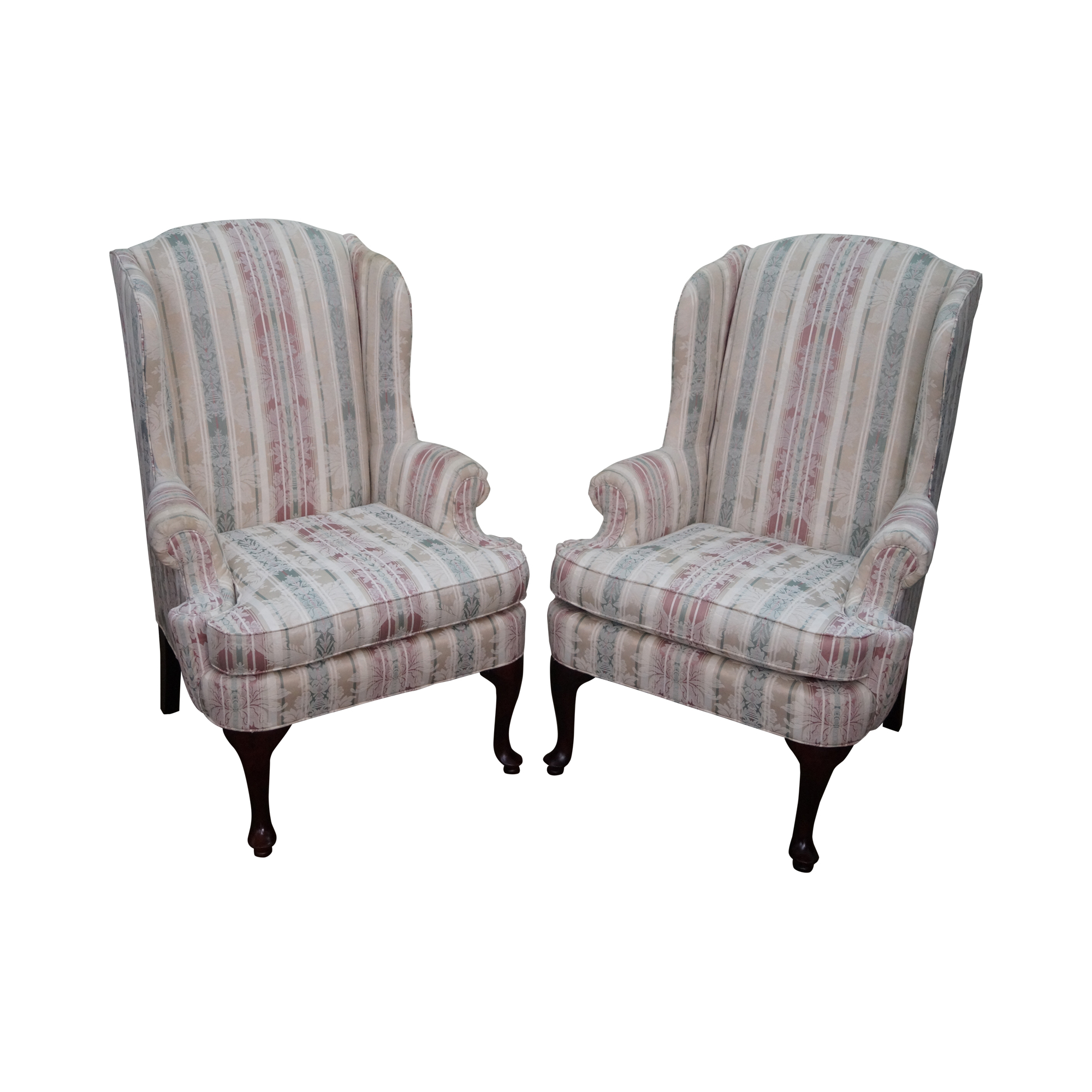 Thomasville Traditional Queen Anne Wing Chairs 2 Chairish : 717dee22 504c 4fae a329 d2f1126569d8 from www.chairish.com size 2000 x 2000 png 1656kB