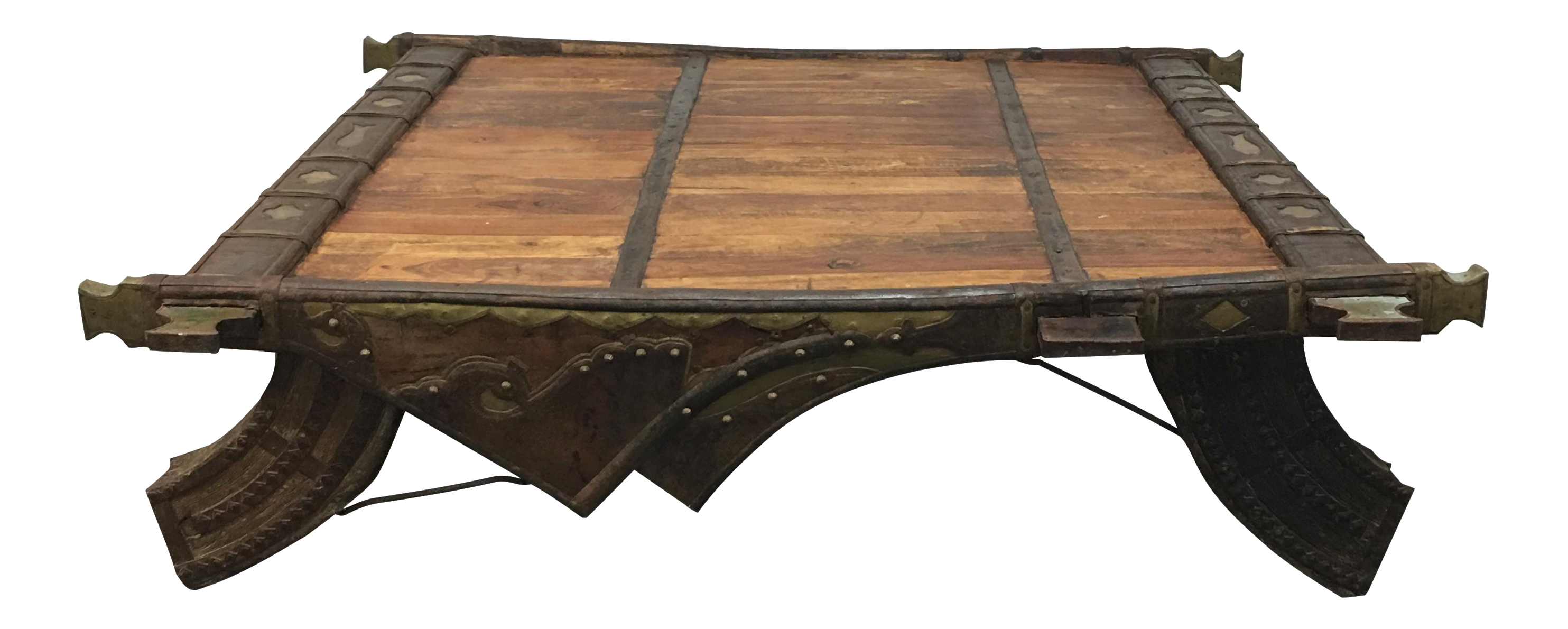 Indian Oxcart Coffee Table